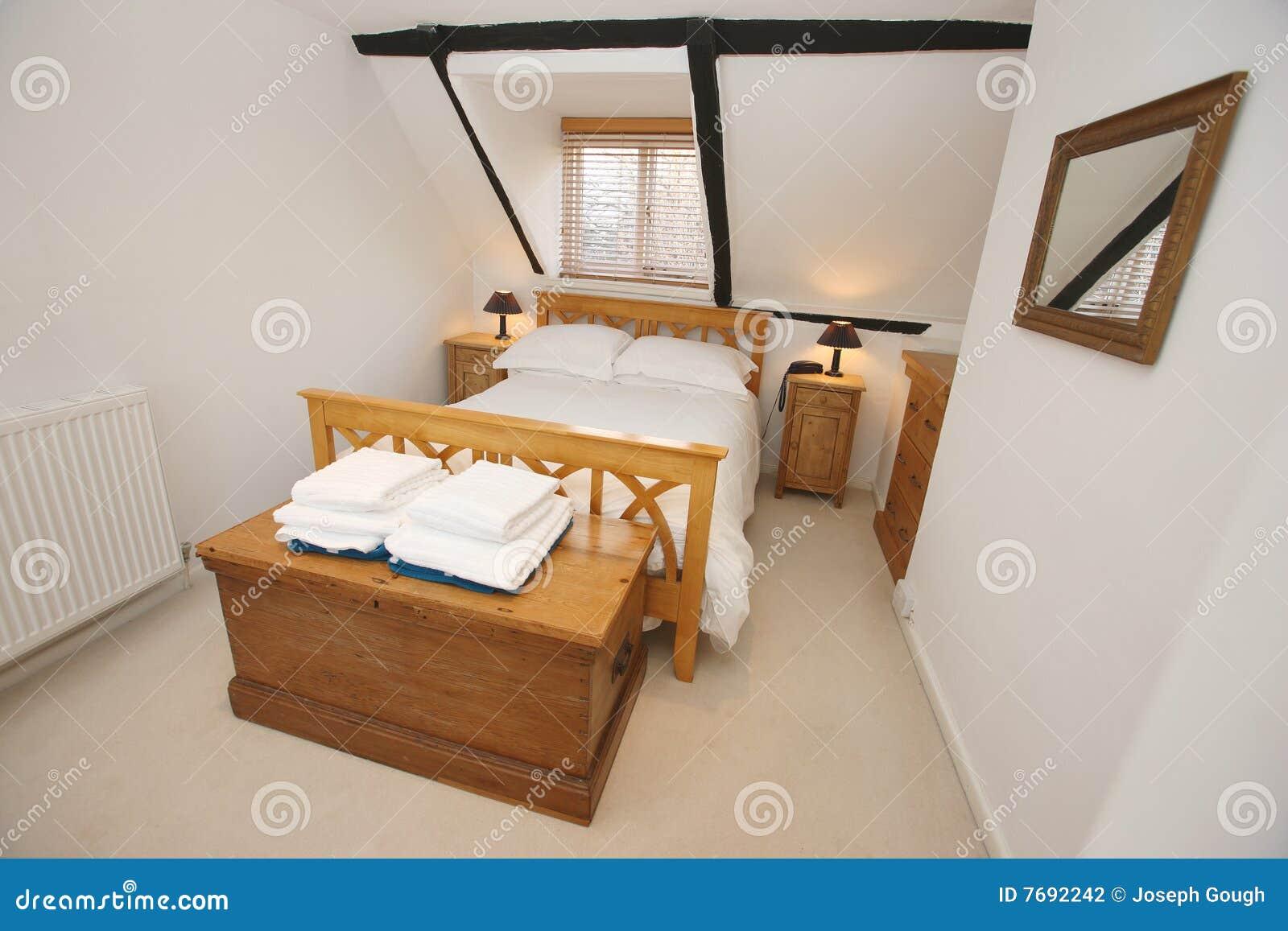 Sypialni chałupy wnętrze