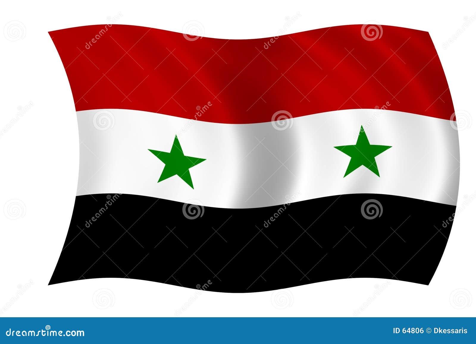 Syria bandery