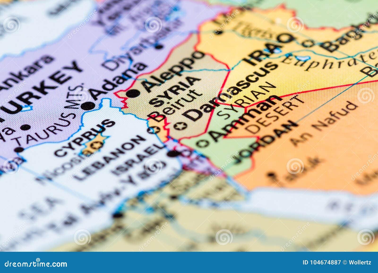 Syrien på en översikt