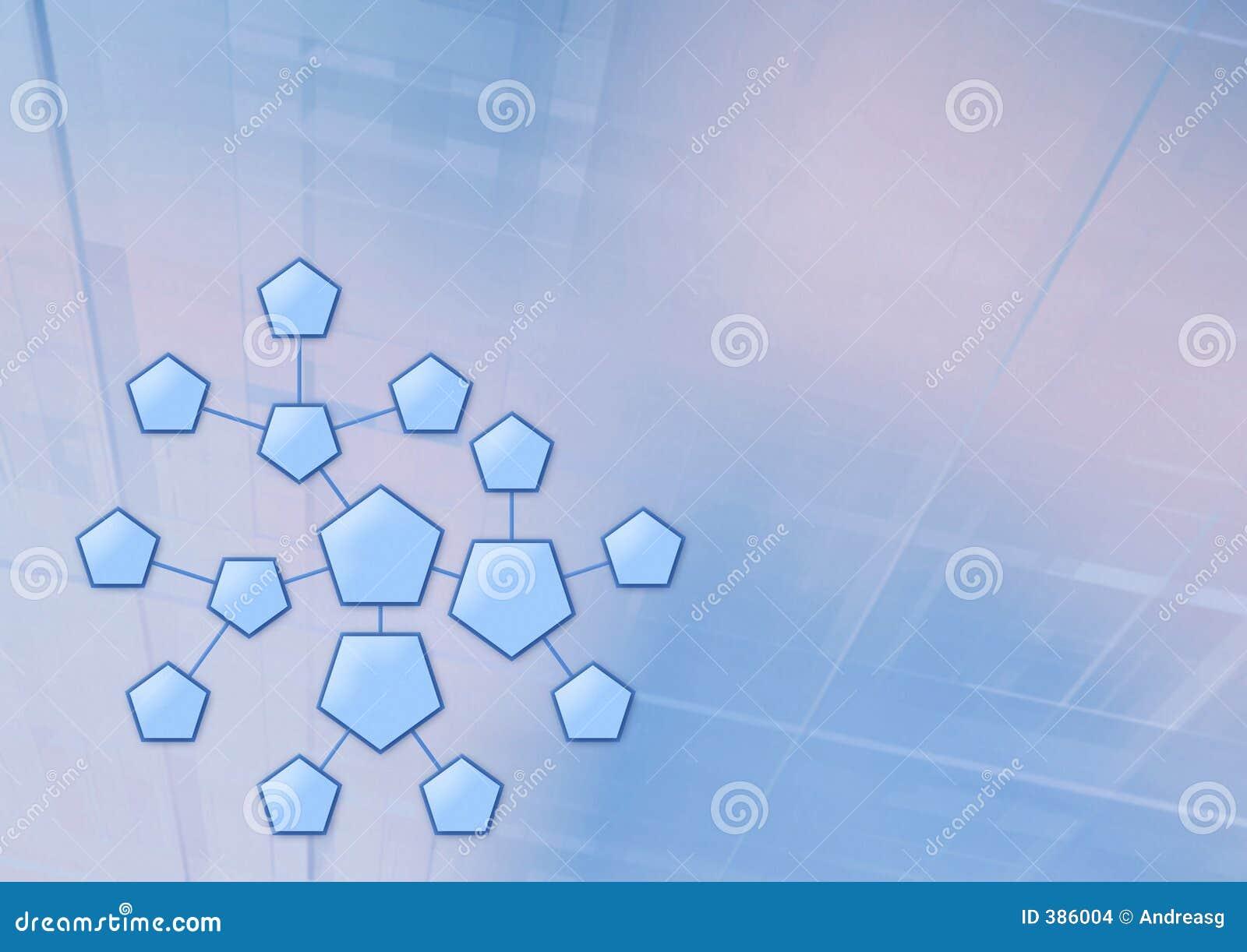 Système d hexagone