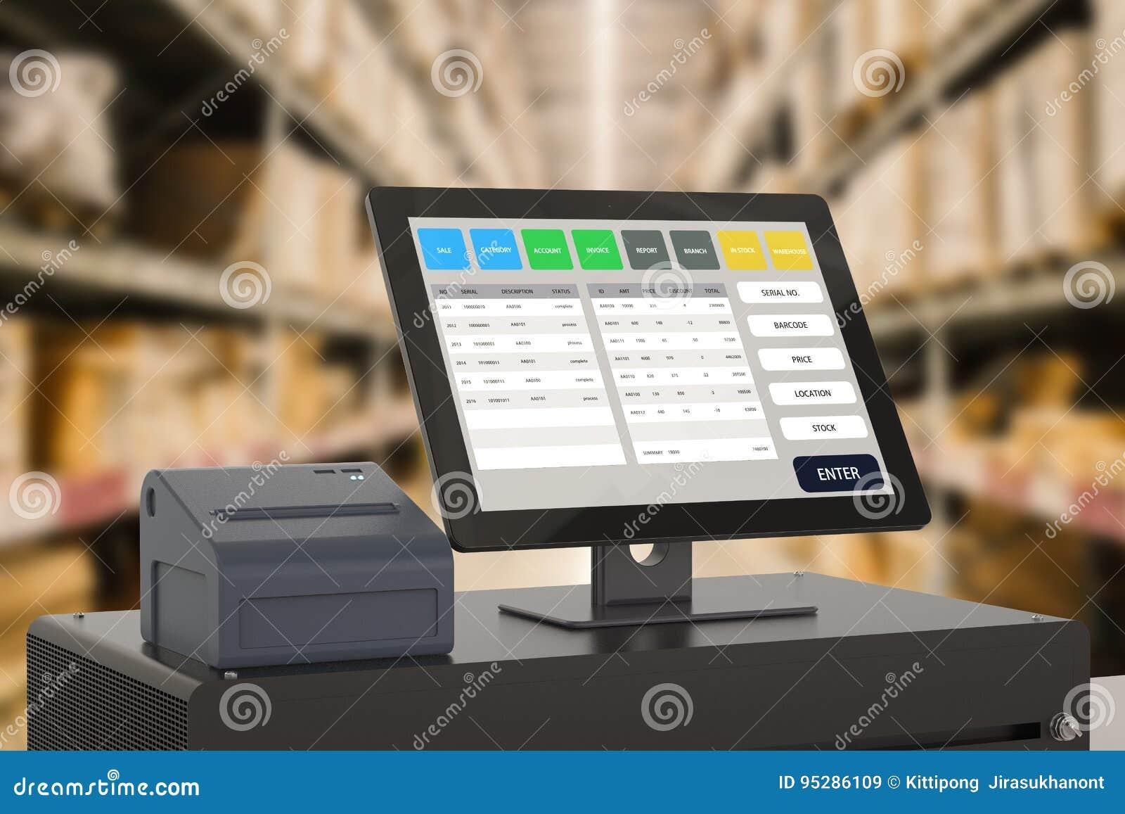 Système de point de vente pour la gestion de magasin