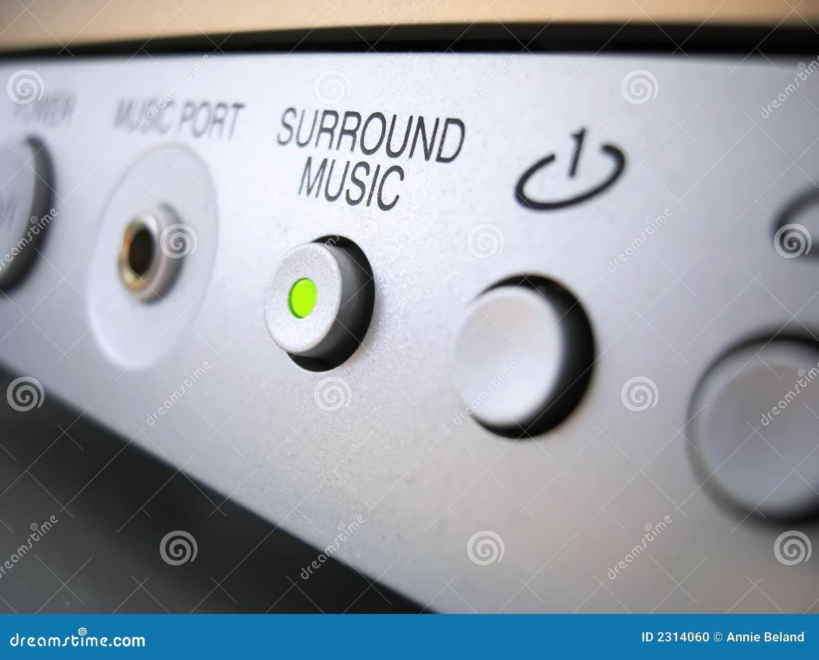 Système de son de musique de bordure
