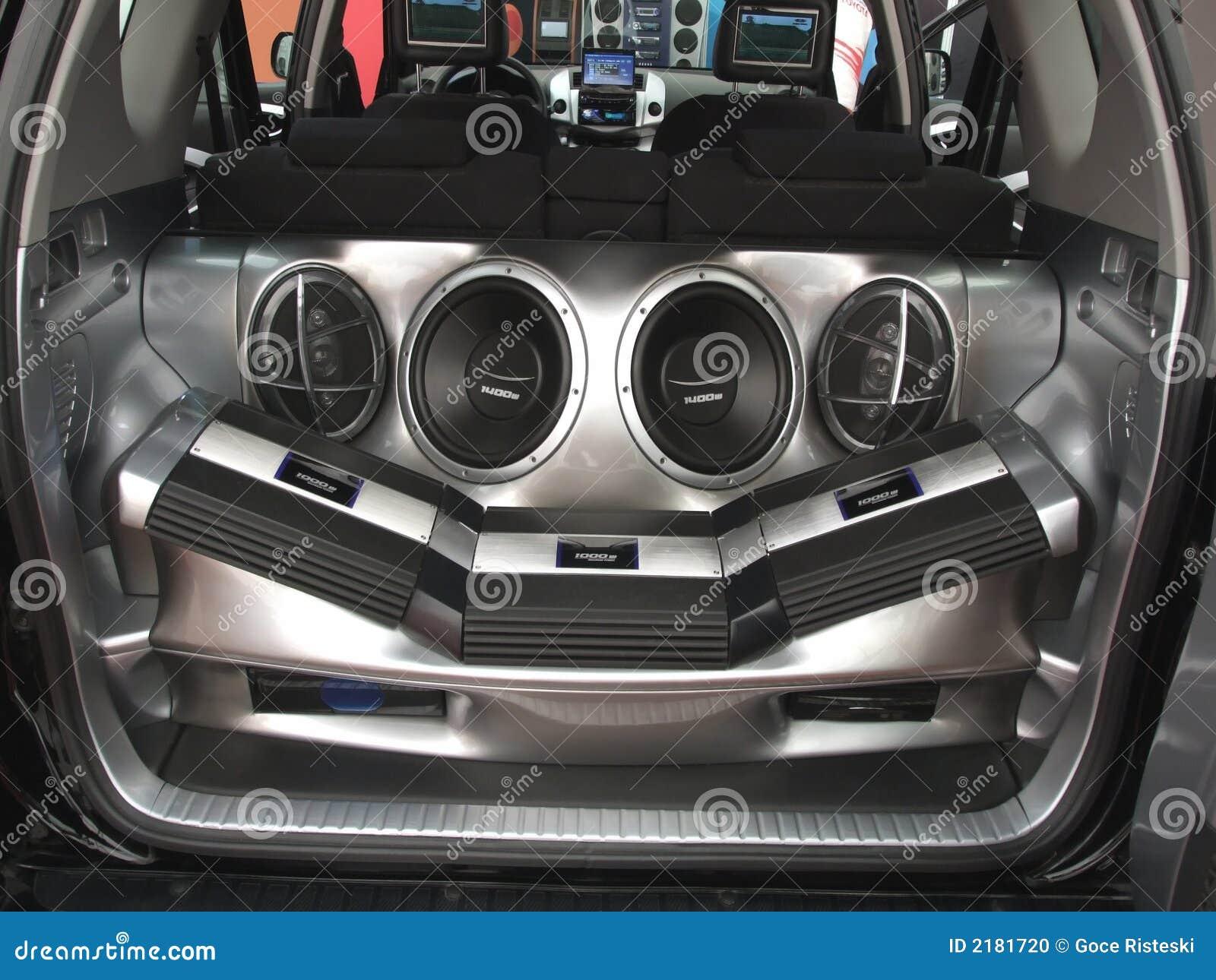 Système sonore de véhicule
