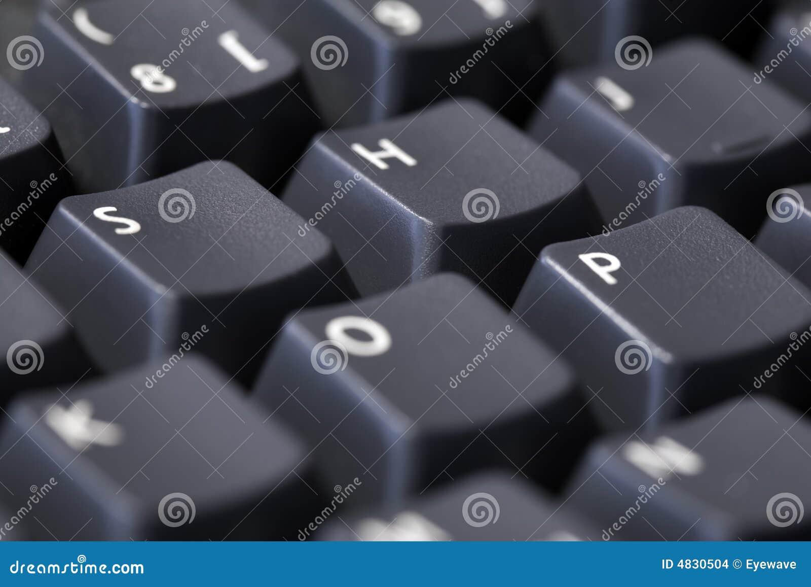 SYSTEM buchstabiert auf Tastatur