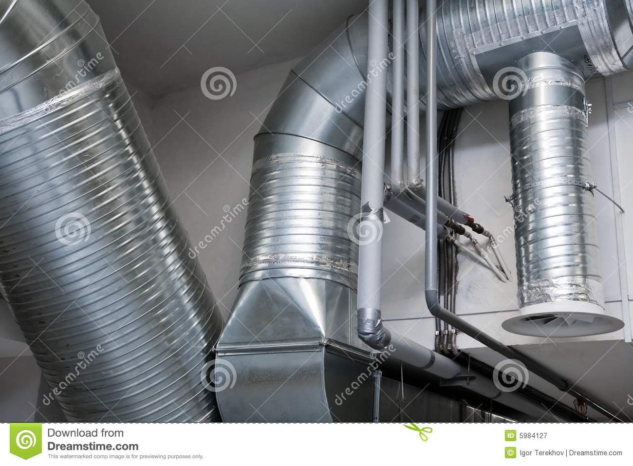 System of ventilating pipes
