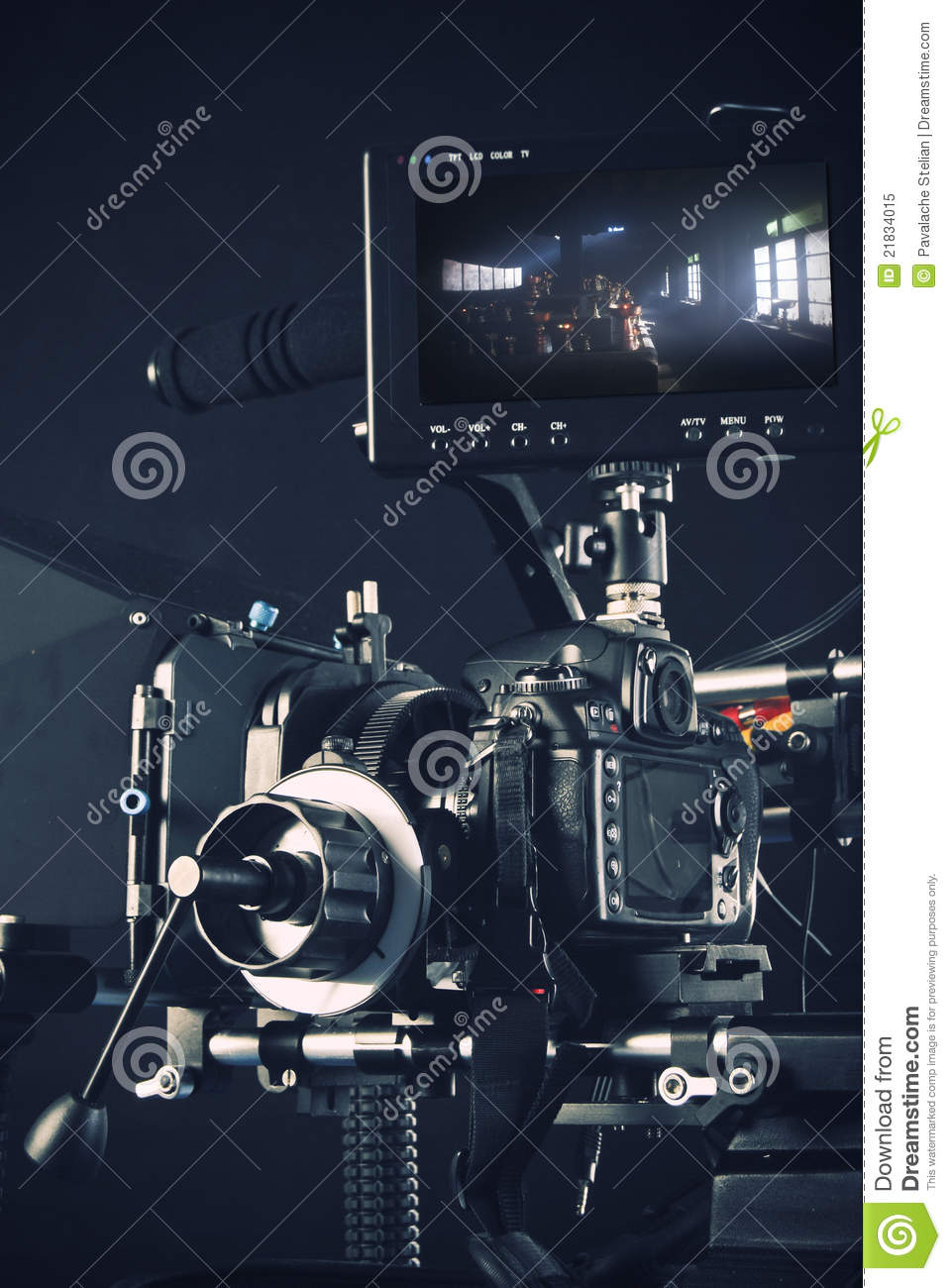 System of a video camera