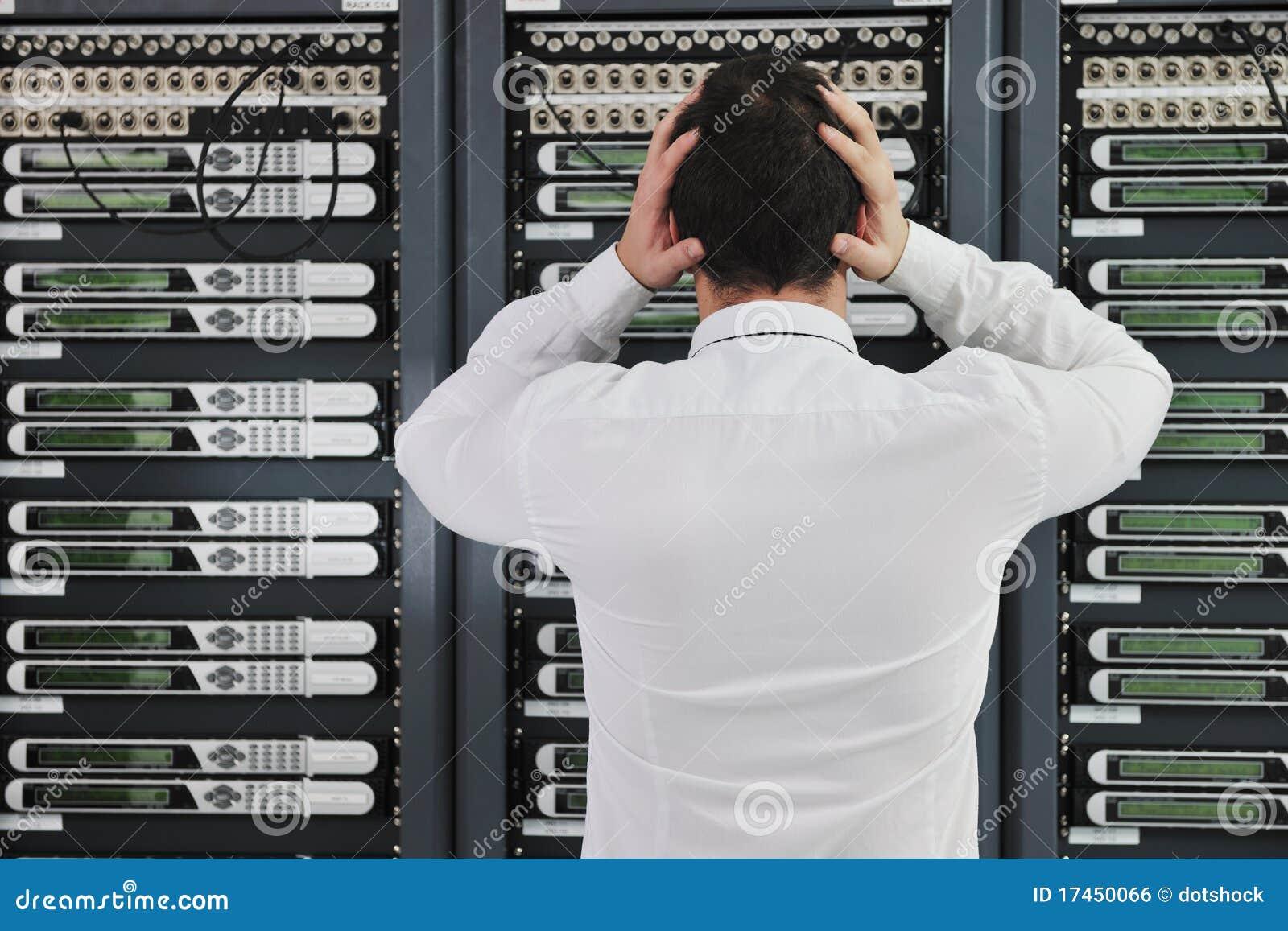 Systemu fail sytuacja w sieci serweru pokoju
