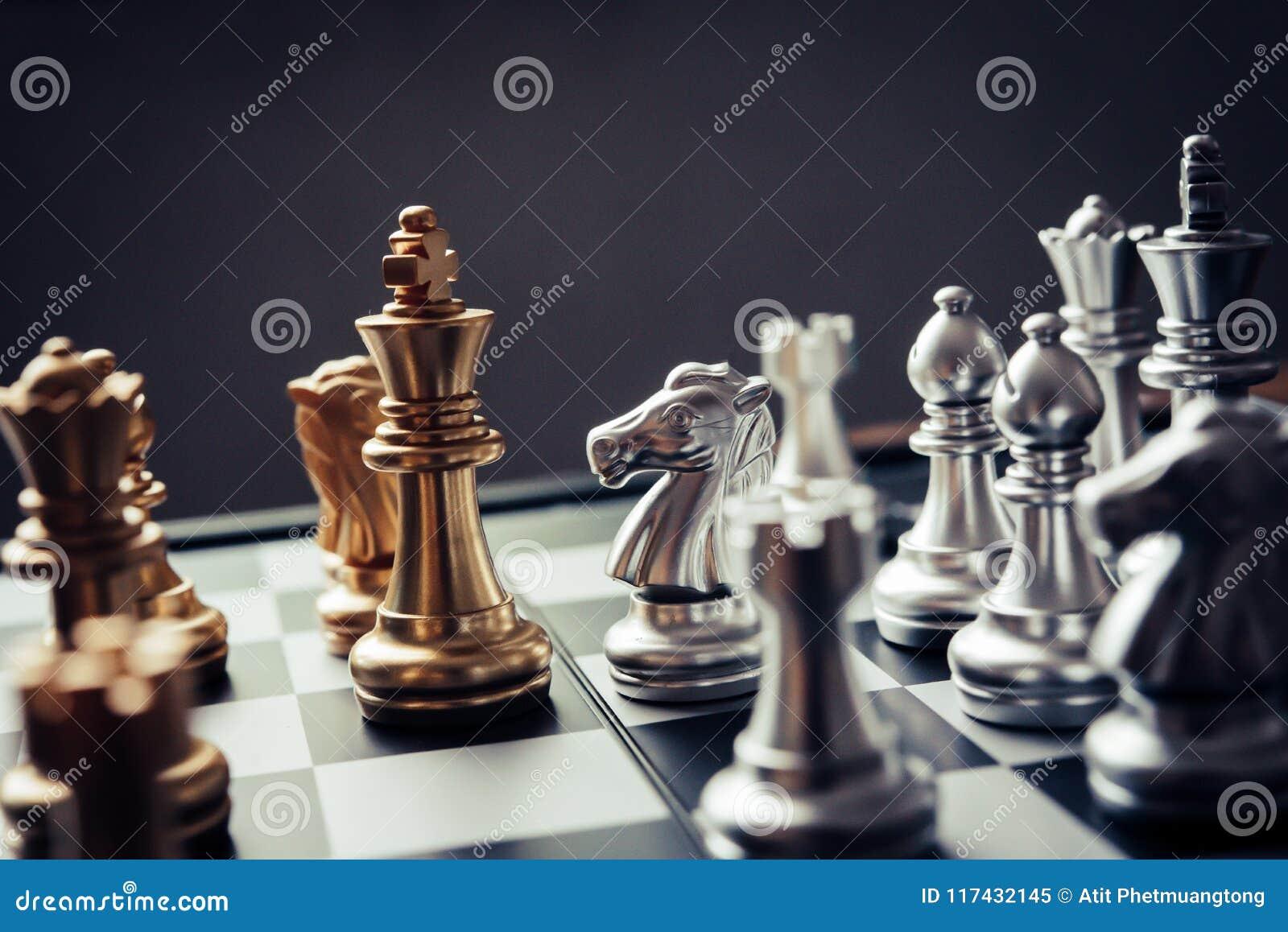Szachowa deska - konkurencyjny biznesowy pomysł udawać się