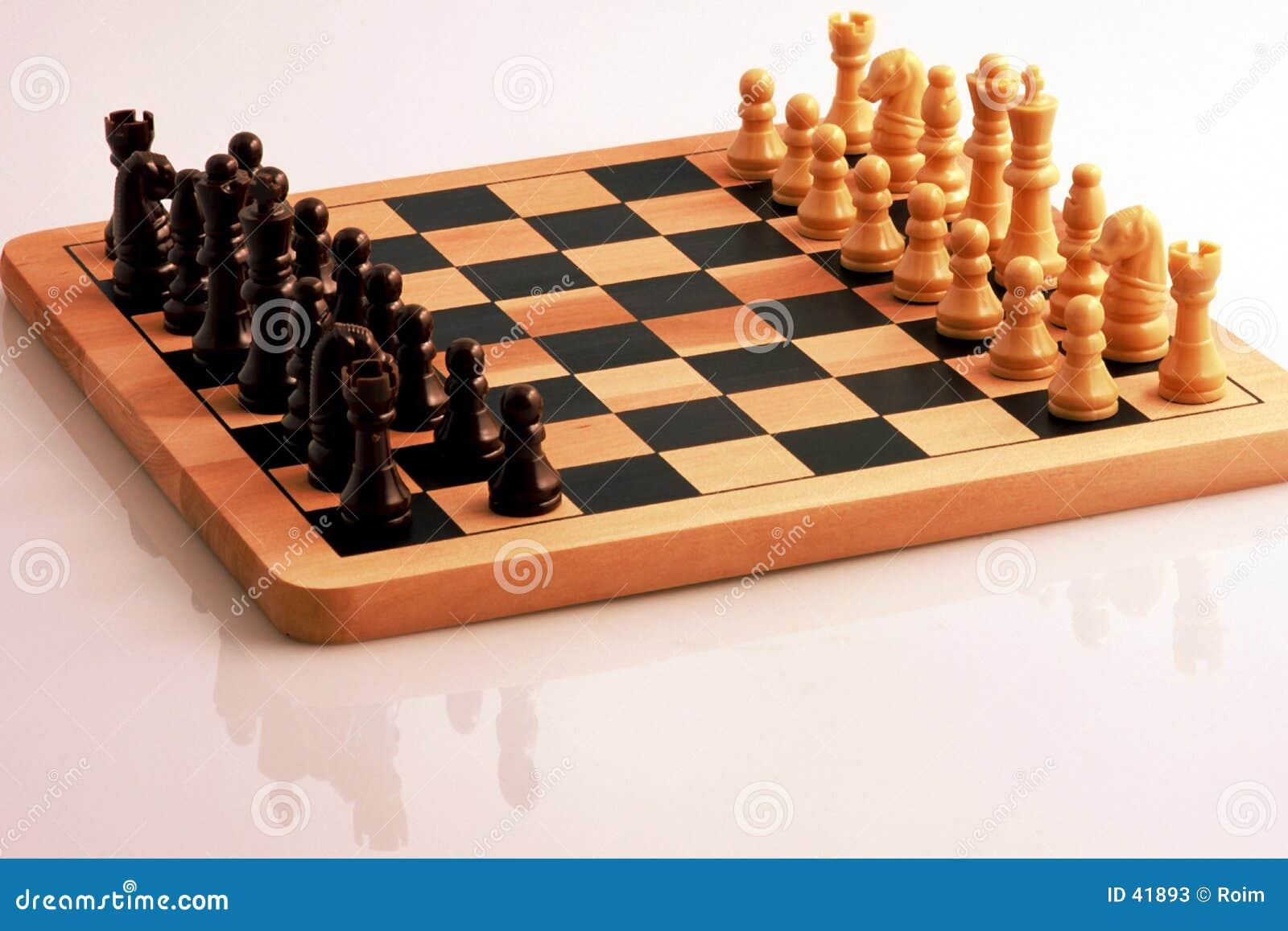 Download Szachy obraz stock. Obraz złożonej z biały, czerń, szachy - 41893
