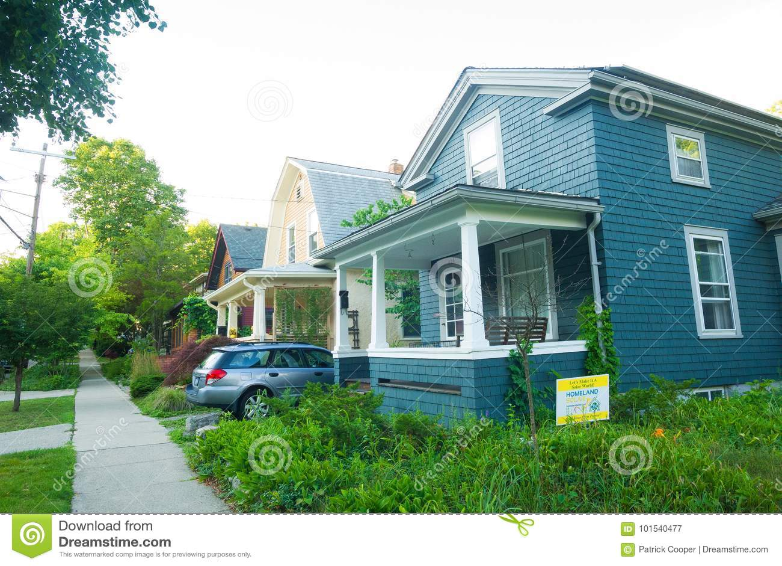 Szalunków domy w Michigan, Stany Zjednoczone