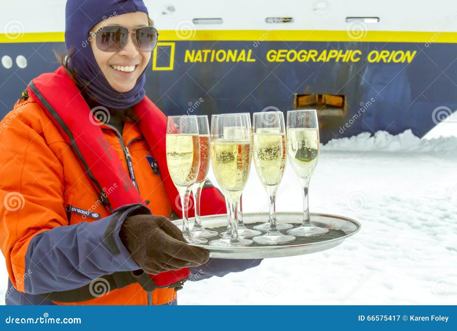 Szampańska grzanka, Antarctica