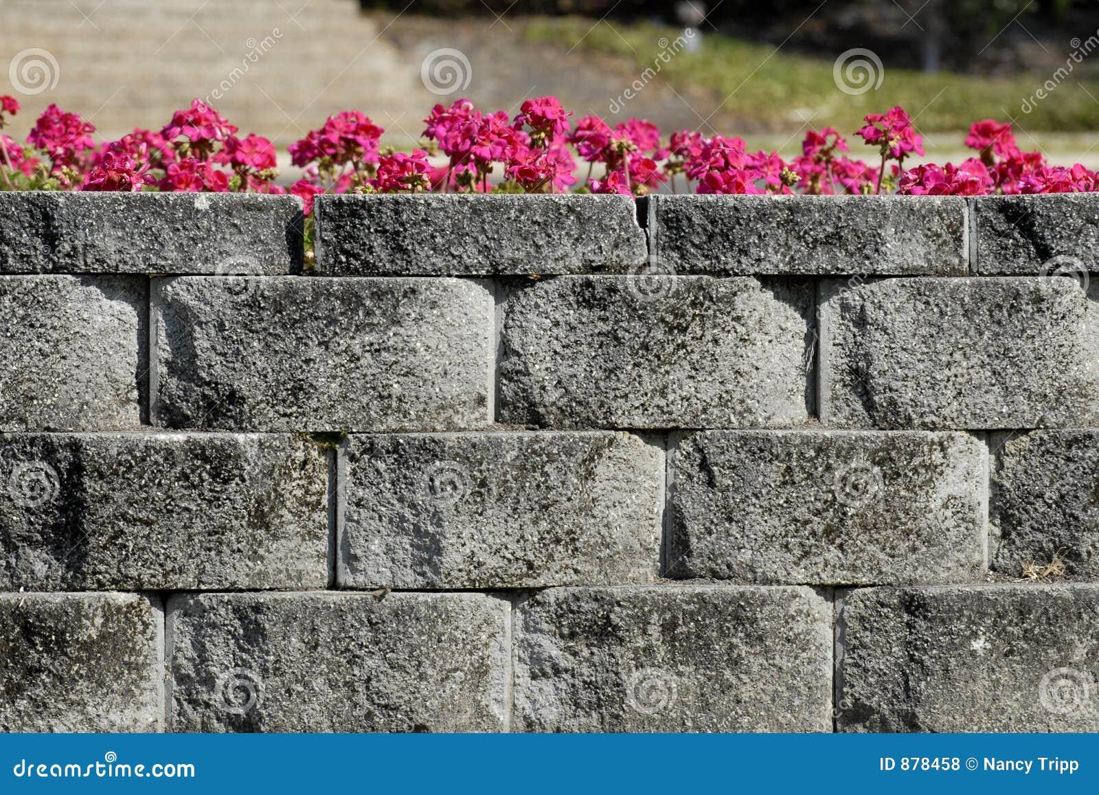 Szara kamienna ściana