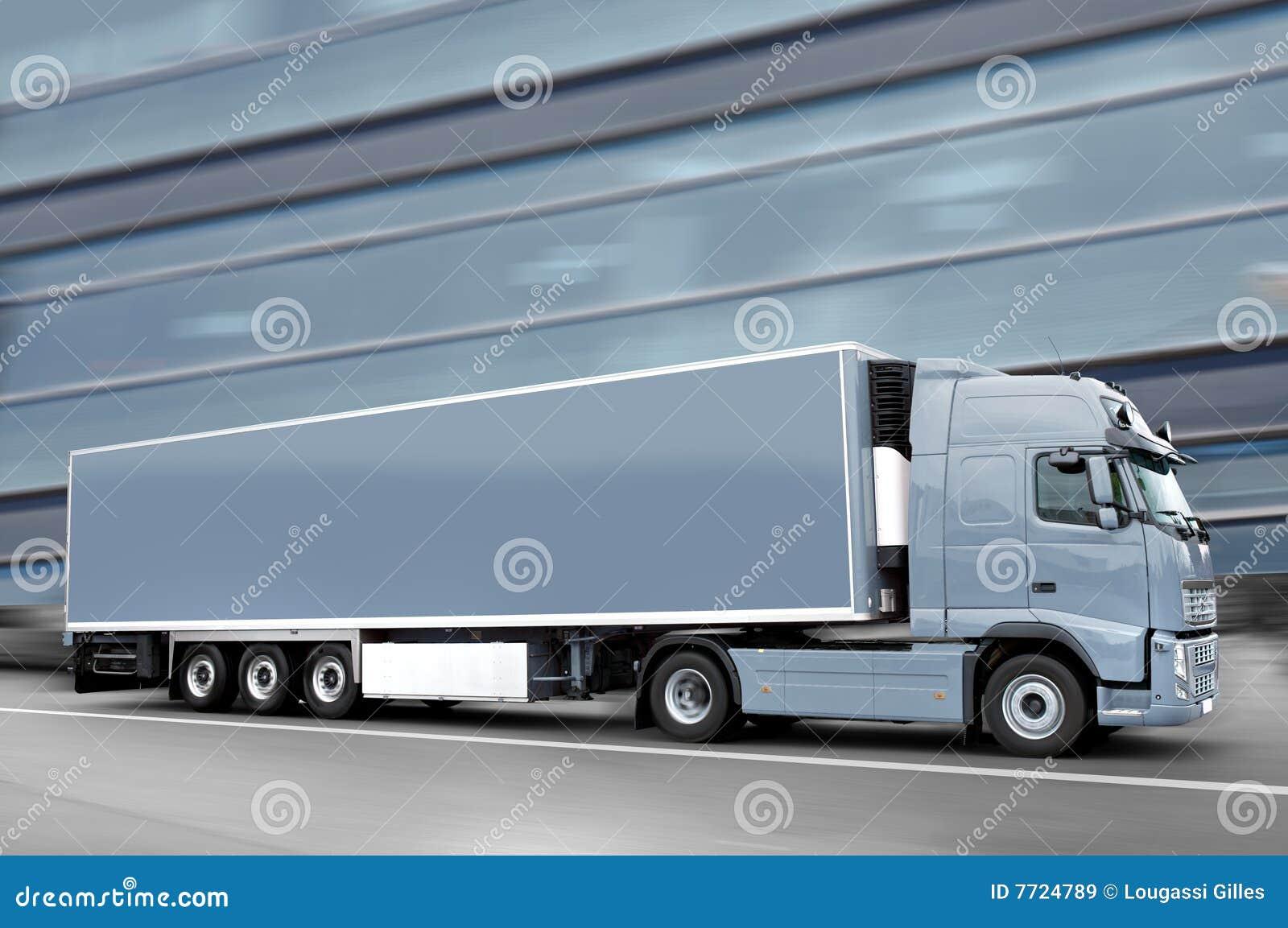 Szarość ciężarówka
