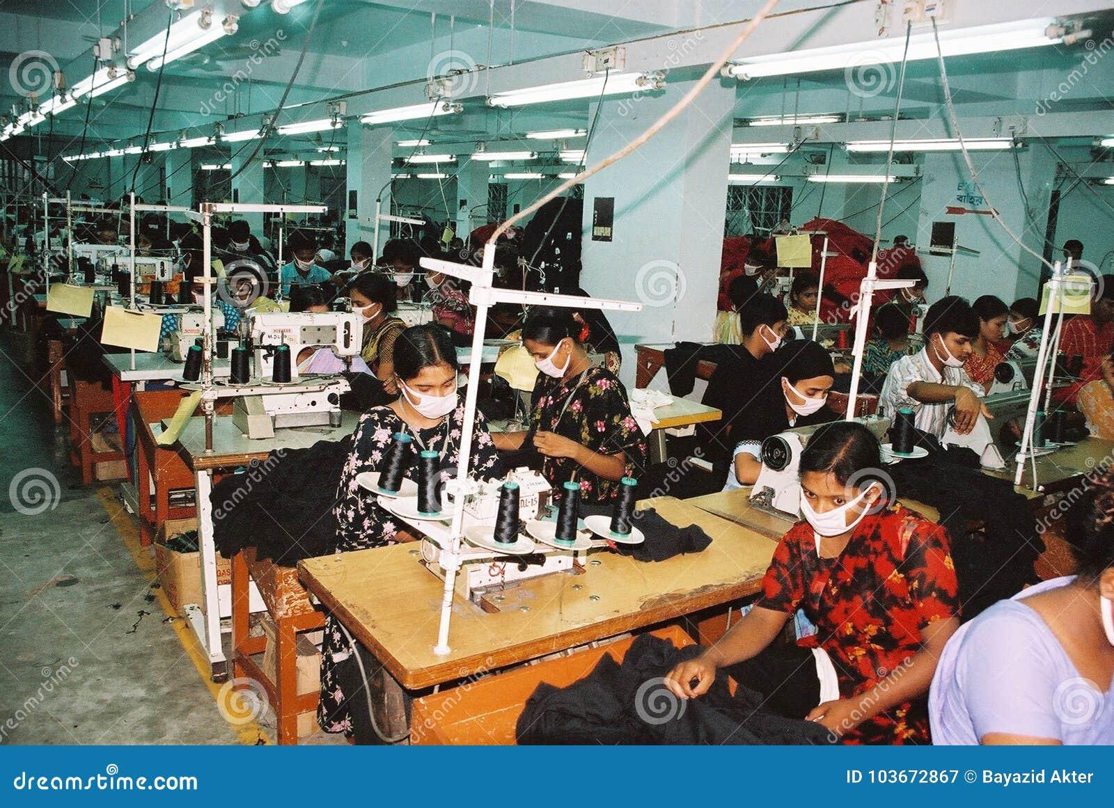 Szata przemysł w Bangladesz