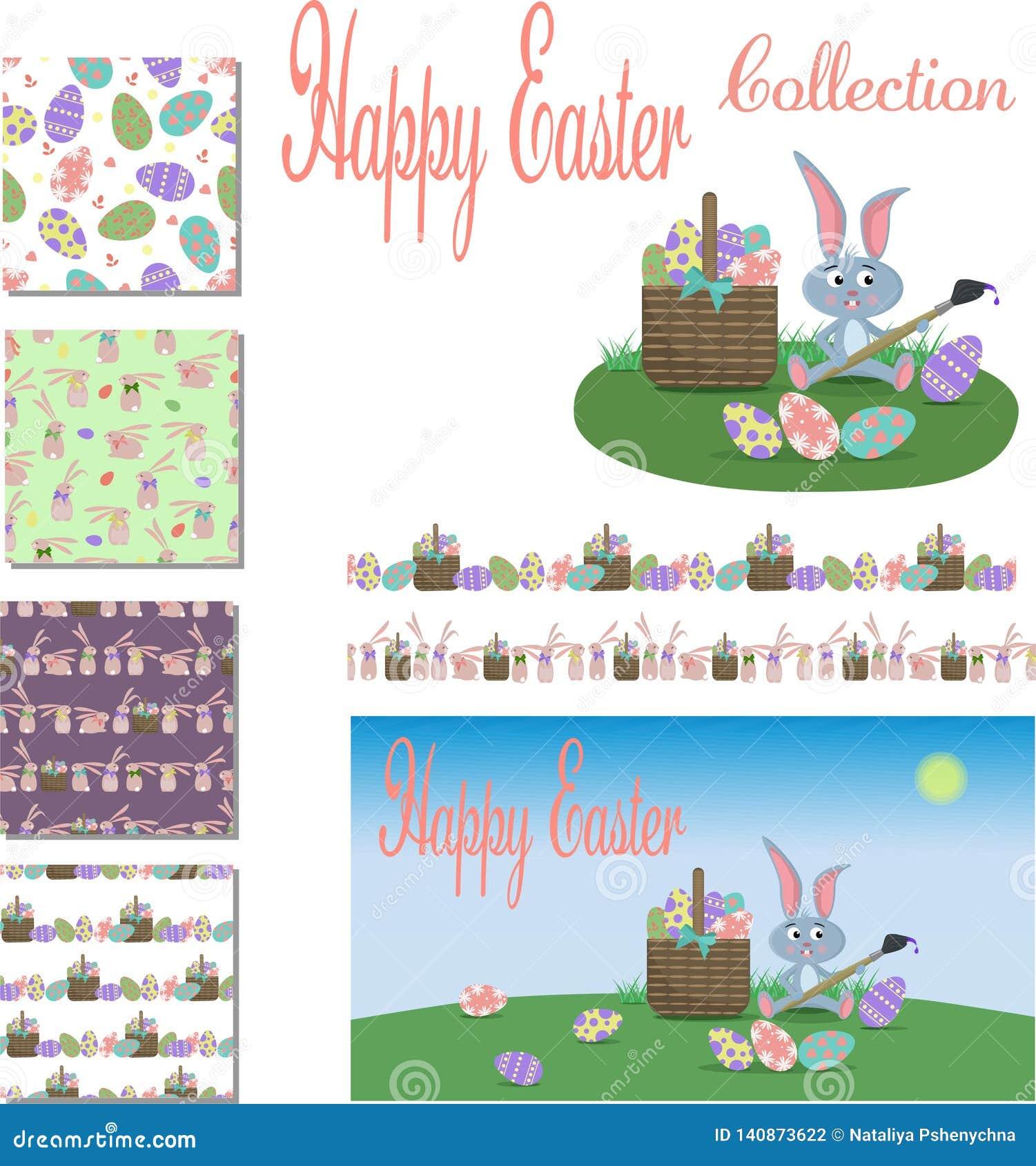 Szczęśliwa Wielkanocna kolekcja