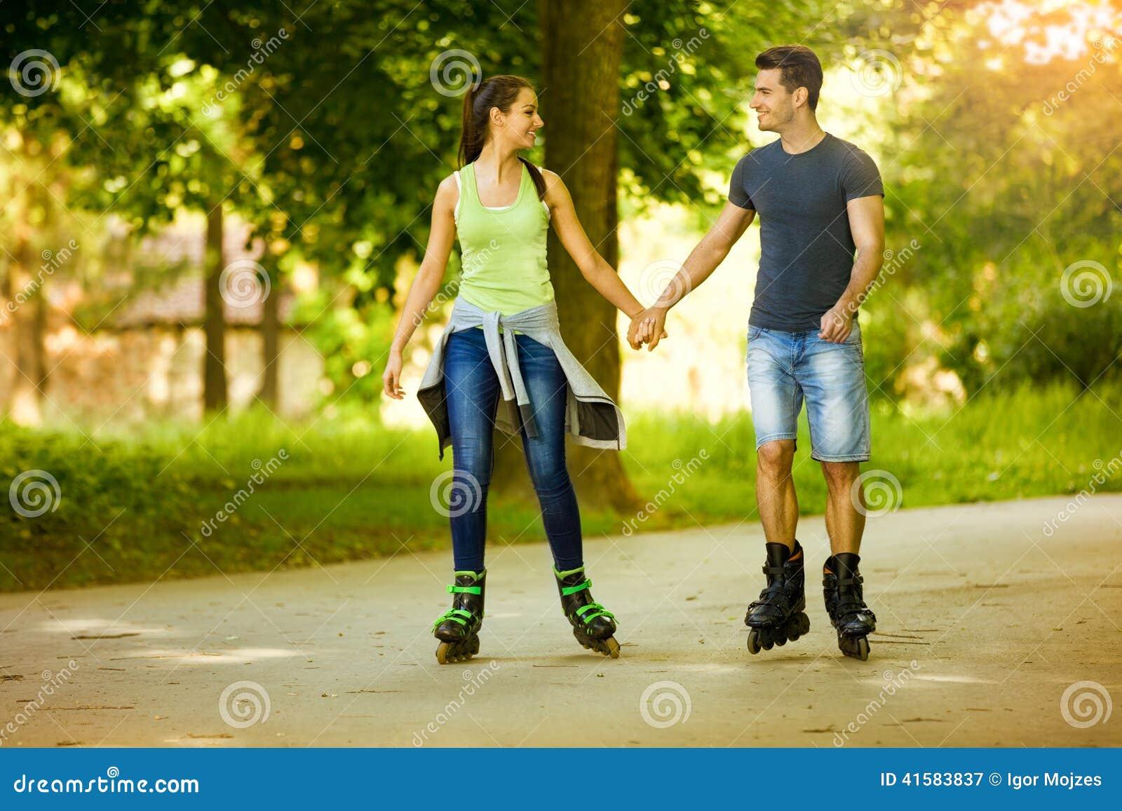 Szczęście pary łyżwiarstwo