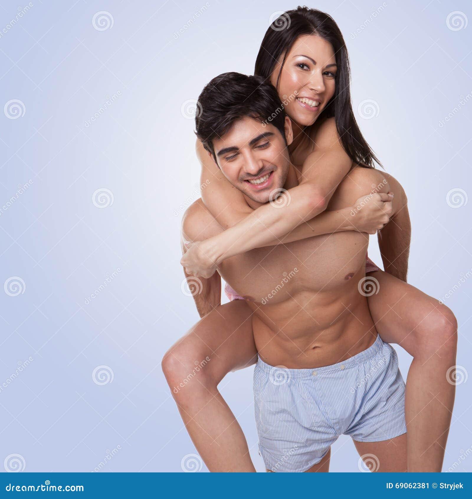 Szczęśliwa beautyful para w miłości