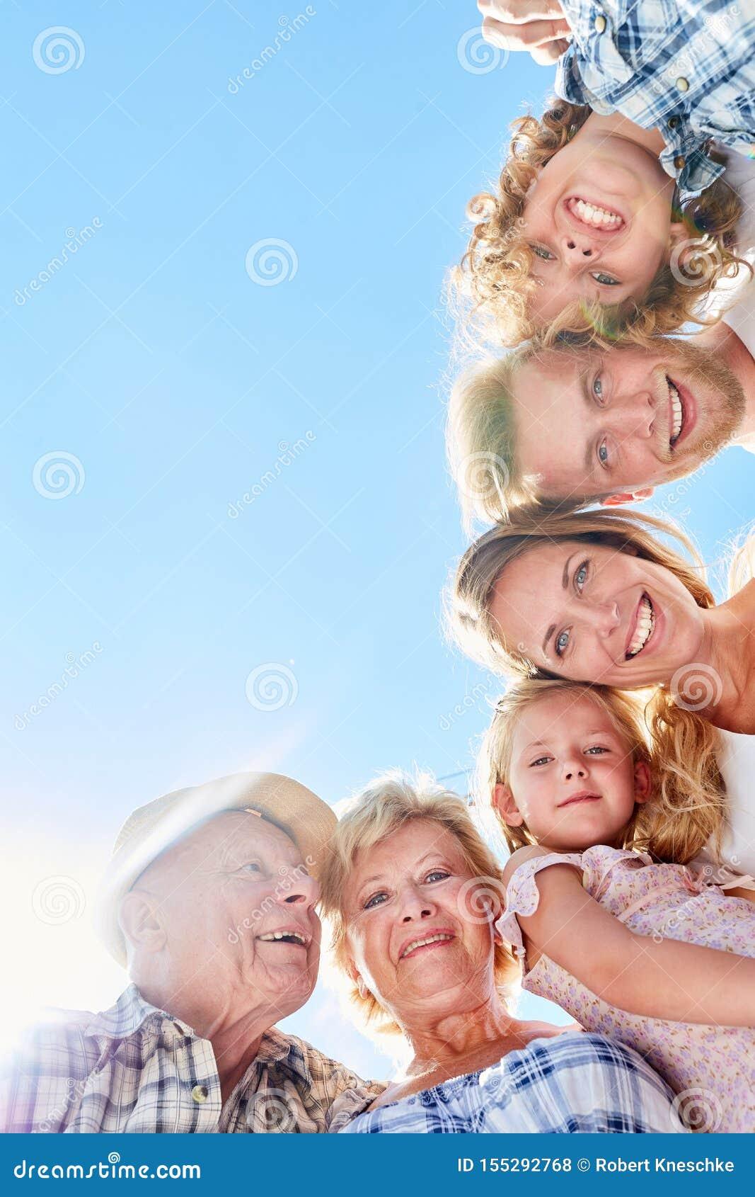 Szczęśliwa dalsza rodzina lub dalsza rodzina
