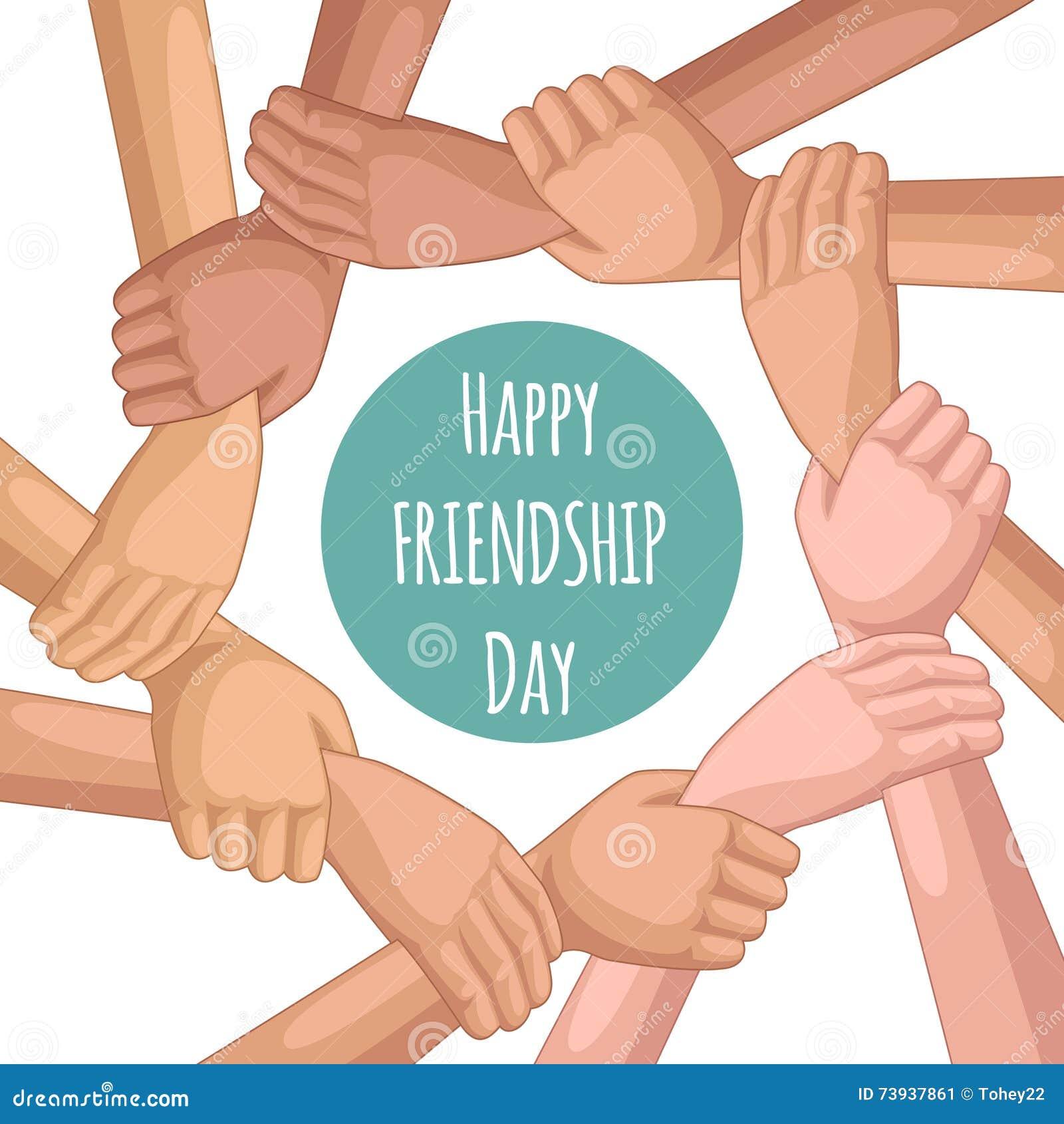 Szczęśliwa dzień przyjaźń