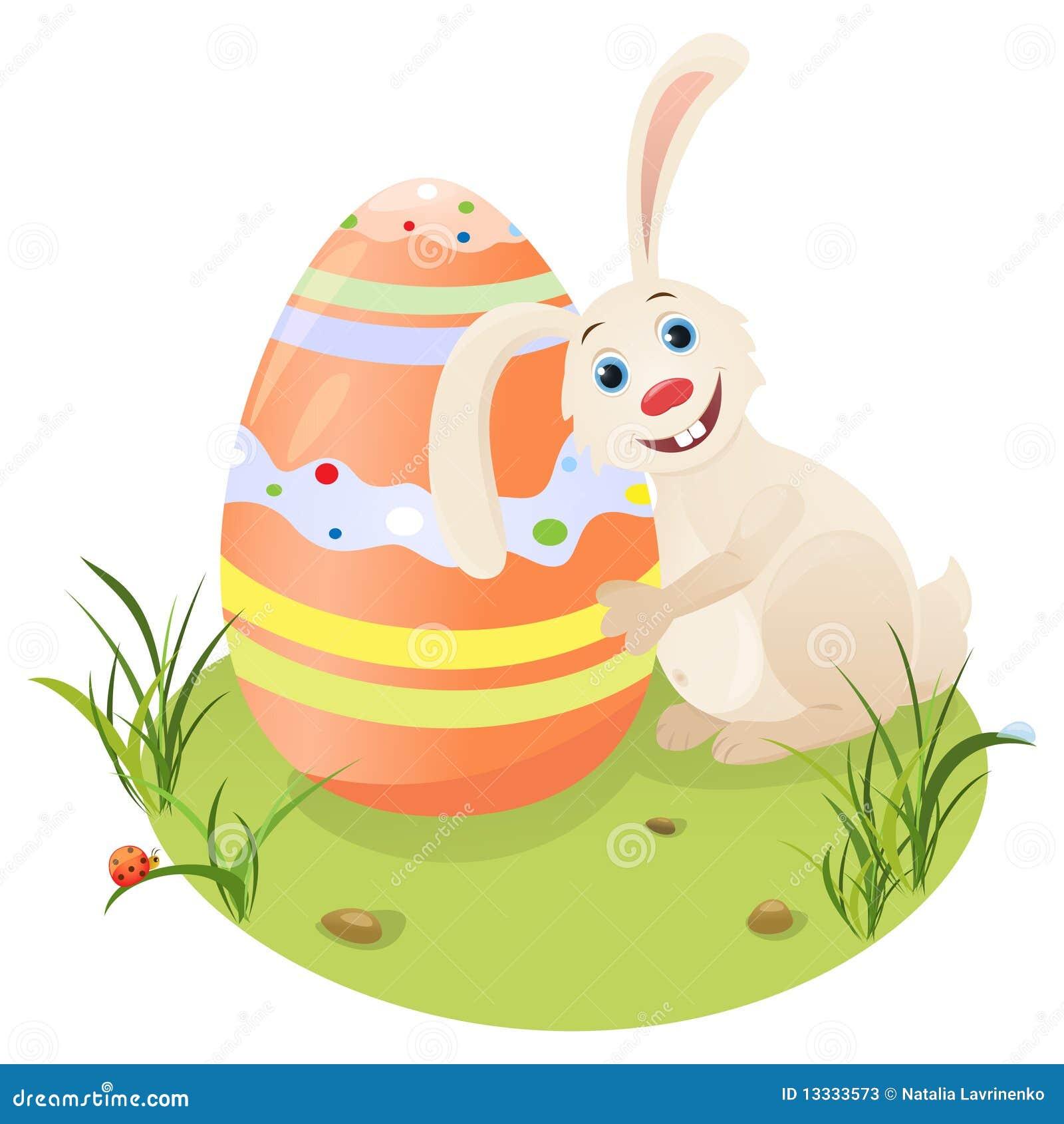 Szczęśliwa Easter zając