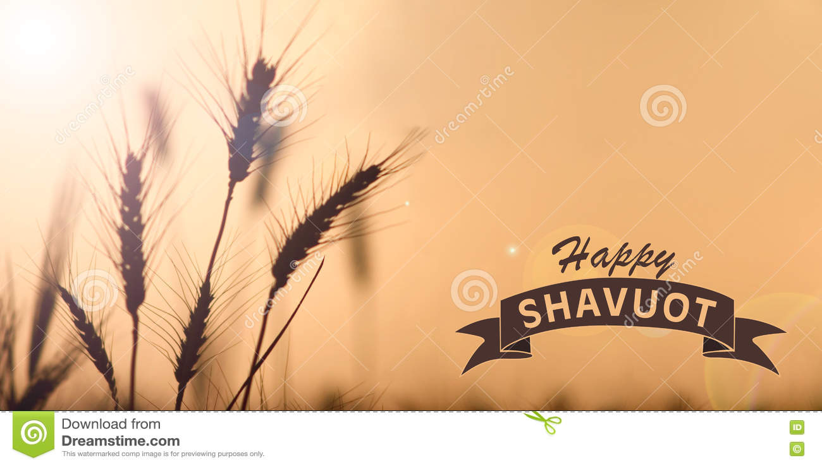Szczęśliwa Shavuot karta