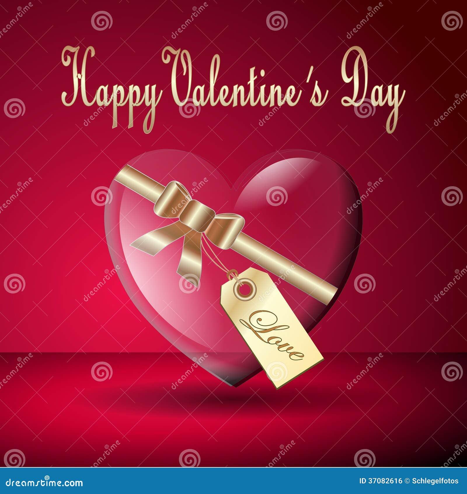 Download Szczęśliwa Valentine Serca Karta Ilustracji - Ilustracja złożonej z wakacje, valentine: 37082616