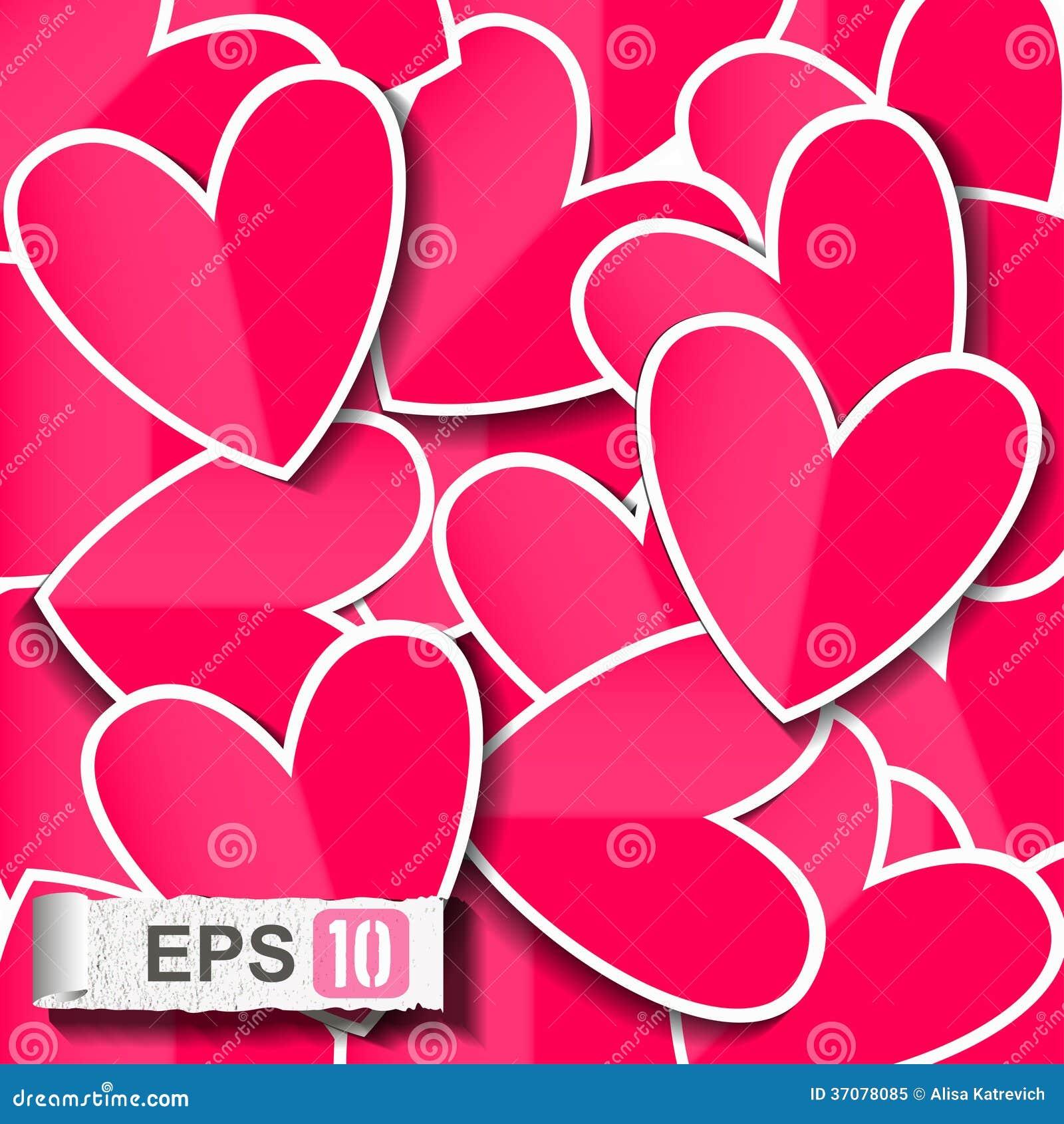Download Szczęśliwa Valentines Dnia Karta. Ilustracja Wektor - Ilustracja złożonej z kwiecisty, wyznaczający: 37078085