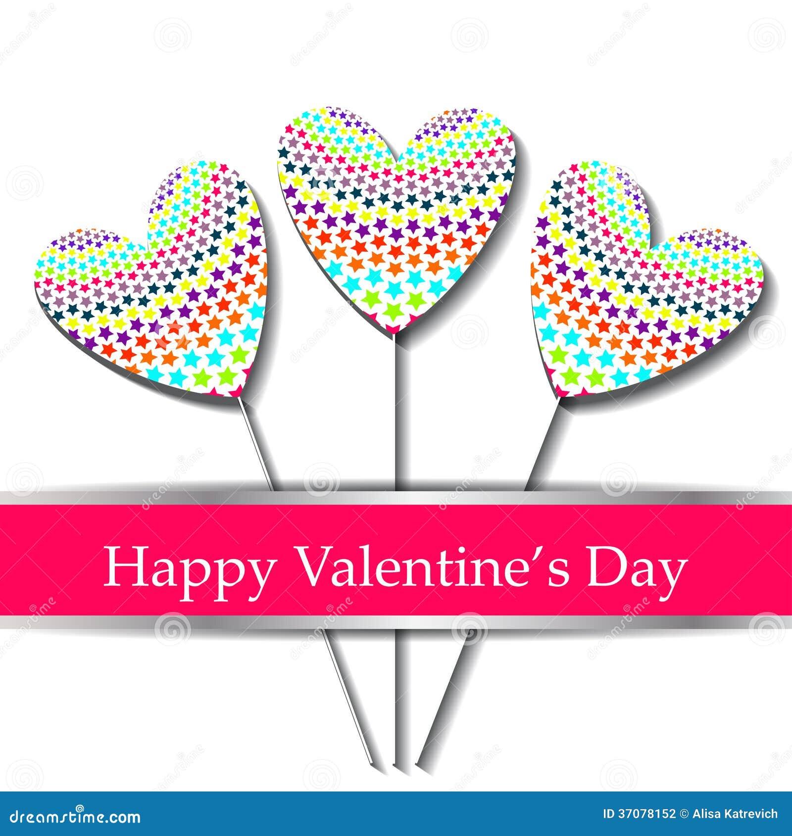 Download Szczęśliwa Valentines Dnia Karta. Ilustracja Wektor - Ilustracja złożonej z data, kwiecisty: 37078152