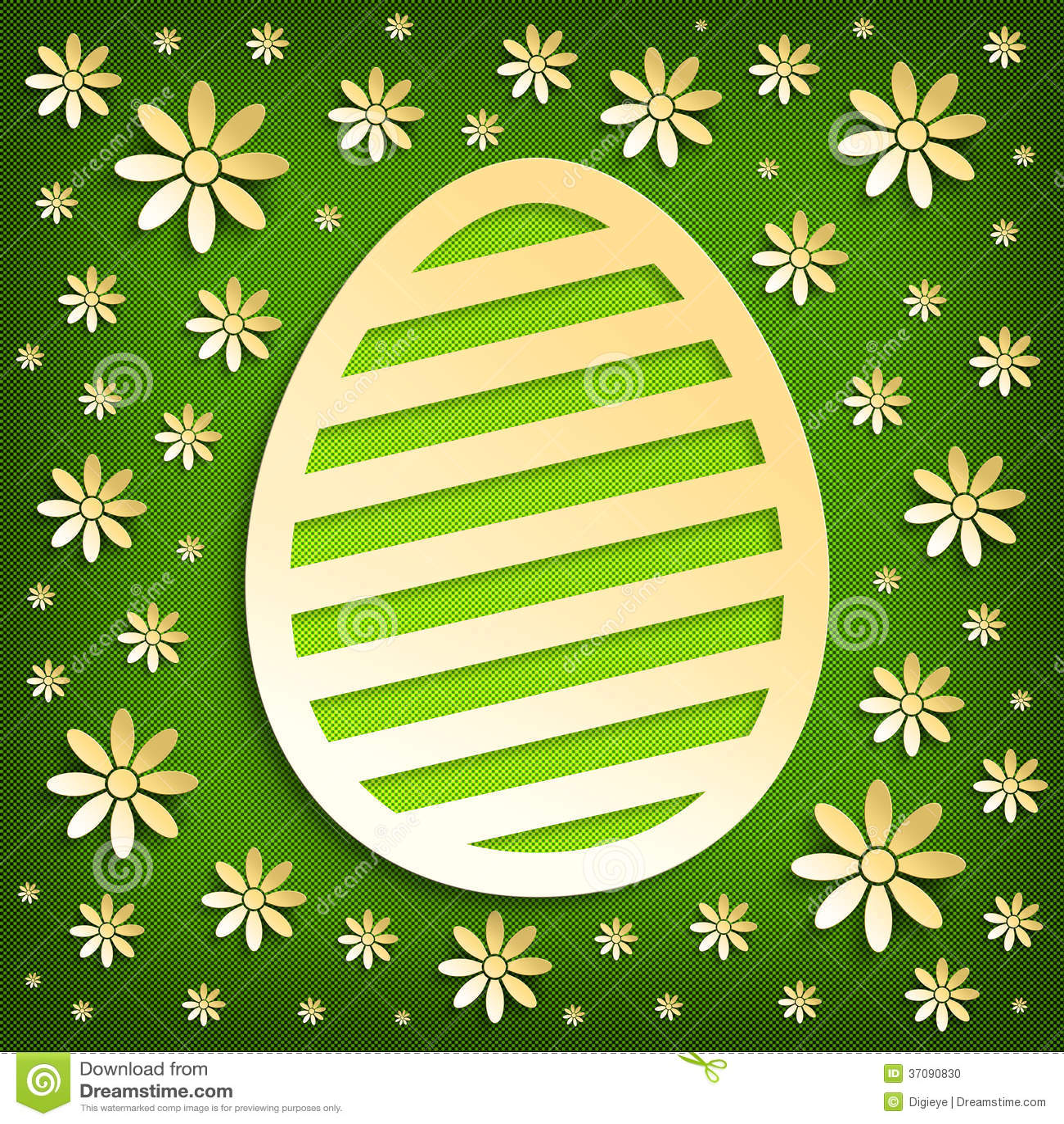 Download Szczęśliwa Wielkanocna Karta Ilustracji - Ilustracja złożonej z tradycyjny, easter: 37090830