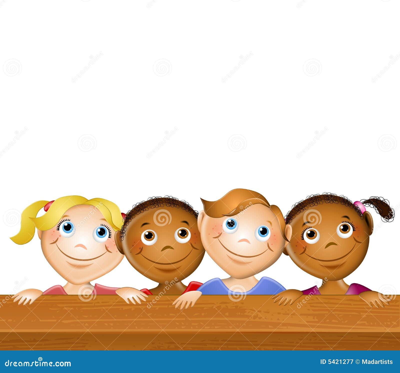 Szczęśliwe dzieci stolik na piknik