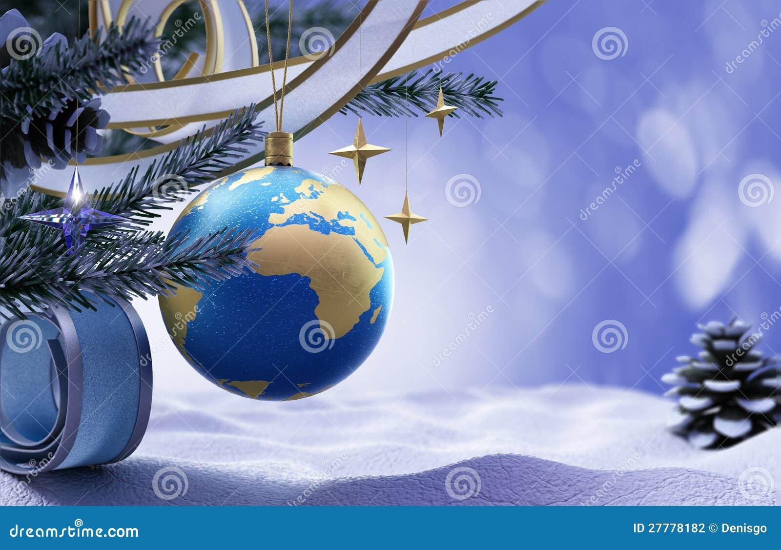 Szczęśliwego Nowego Roku i Wesoło Bożych Narodzeń tło