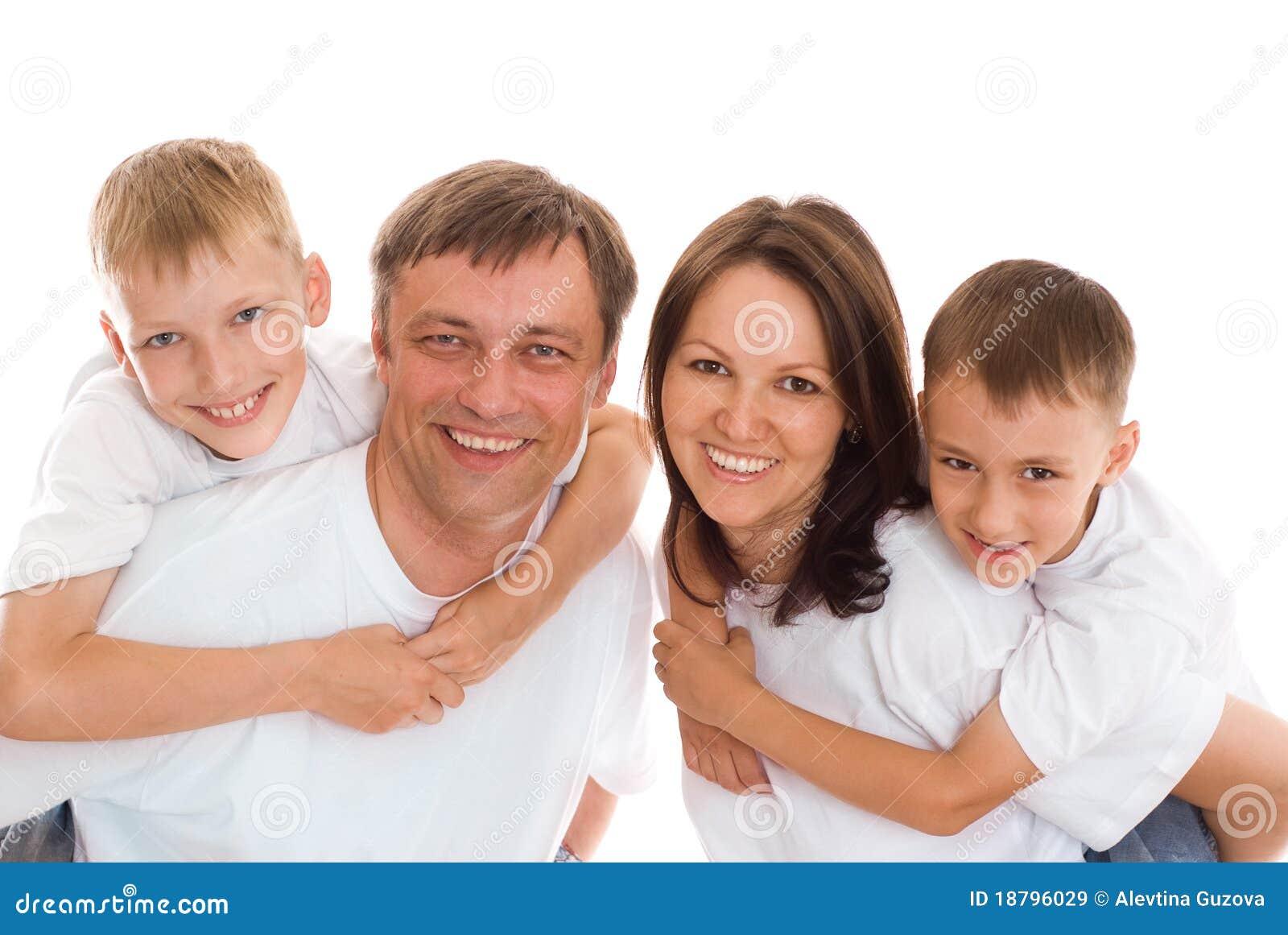 Szczęśliwi dziecko rodzice