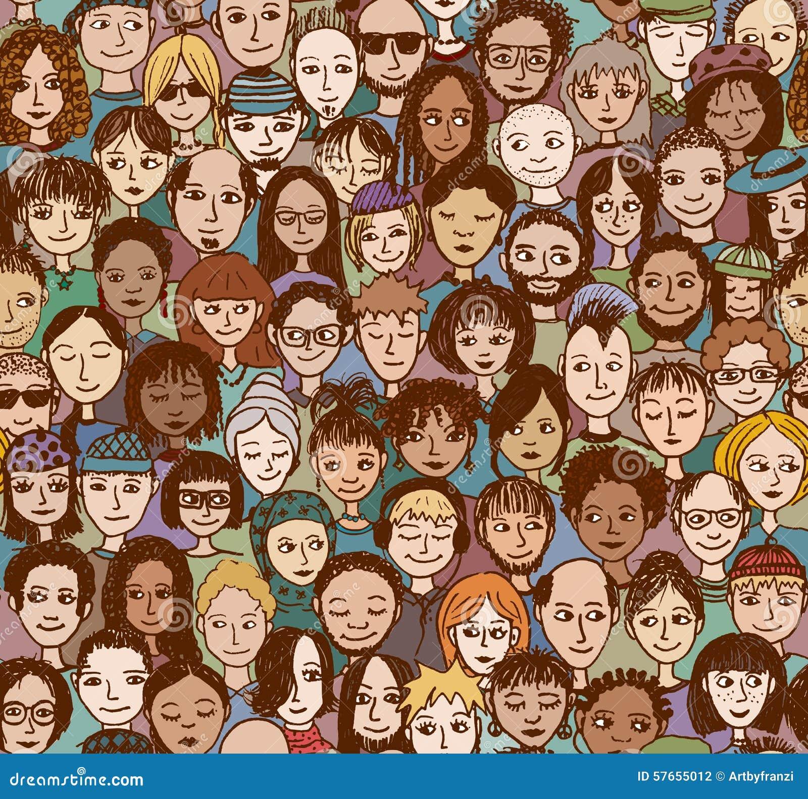 Szczęśliwi ludzie w kolorze -