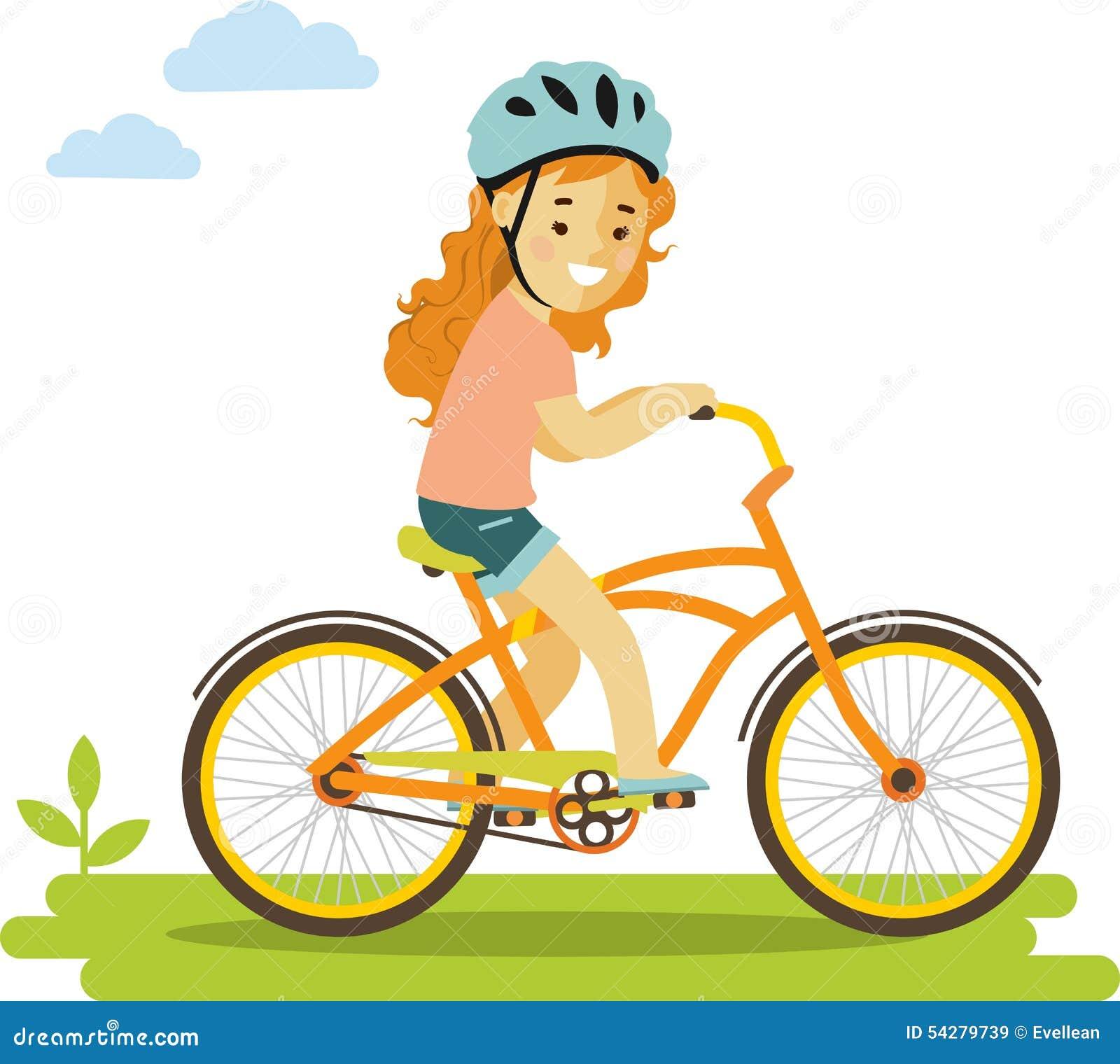 Szczęśliwi Małej Dziewczynki Jazdy Rowery Odizolowywający Na Bielu ...