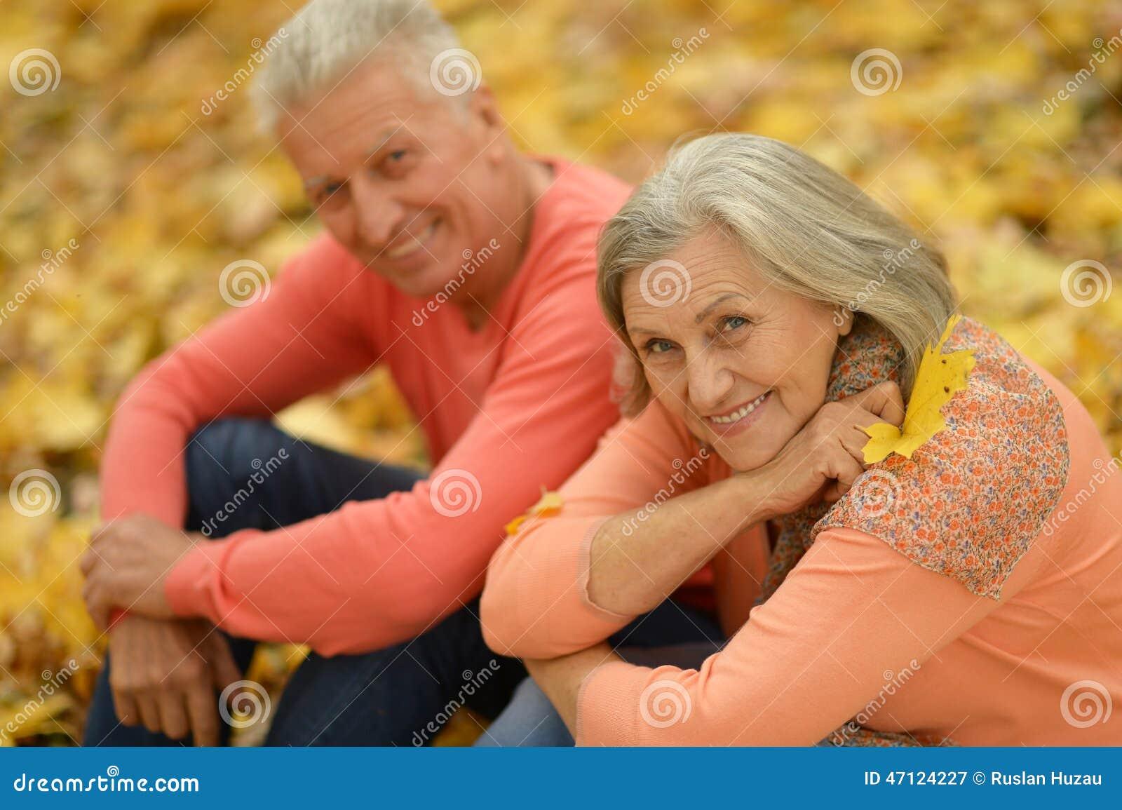 Szczęśliwi starzy ludzie