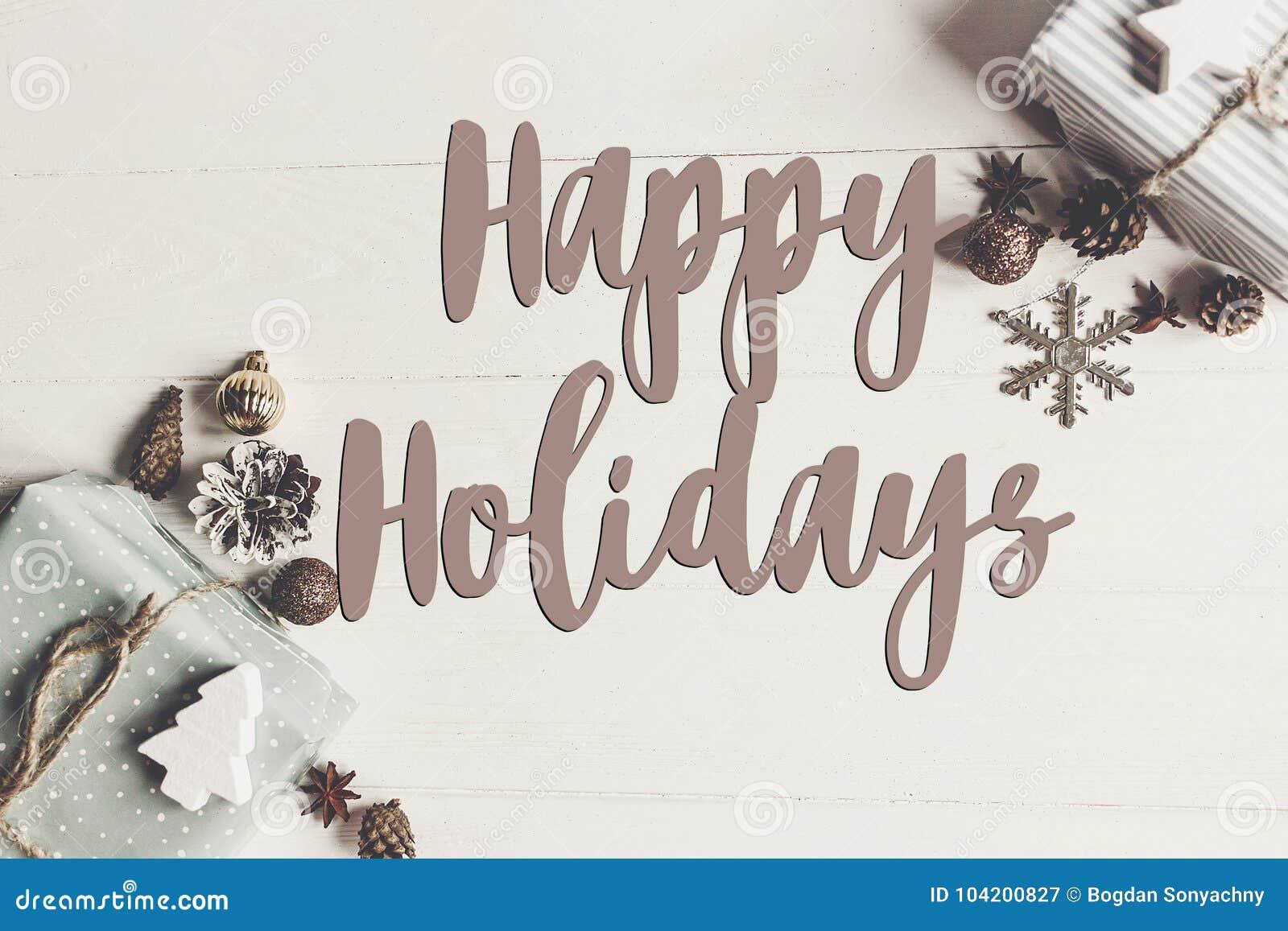 Szczęśliwi wakacje teksty, sezonowy powitanie karty znak Mieszkanie nieatutowy sty
