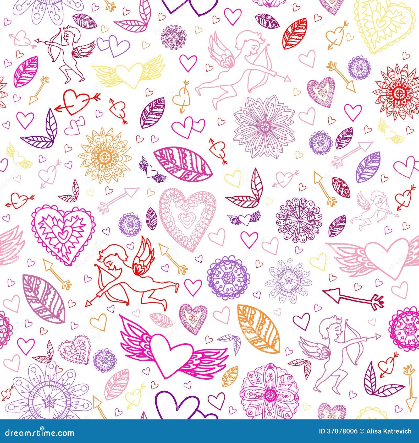 Download Szczęśliwi Walentynka Znaki Na Białym Tle. Ilustracja Wektor - Ilustracja złożonej z świętowanie, anioł: 37078006