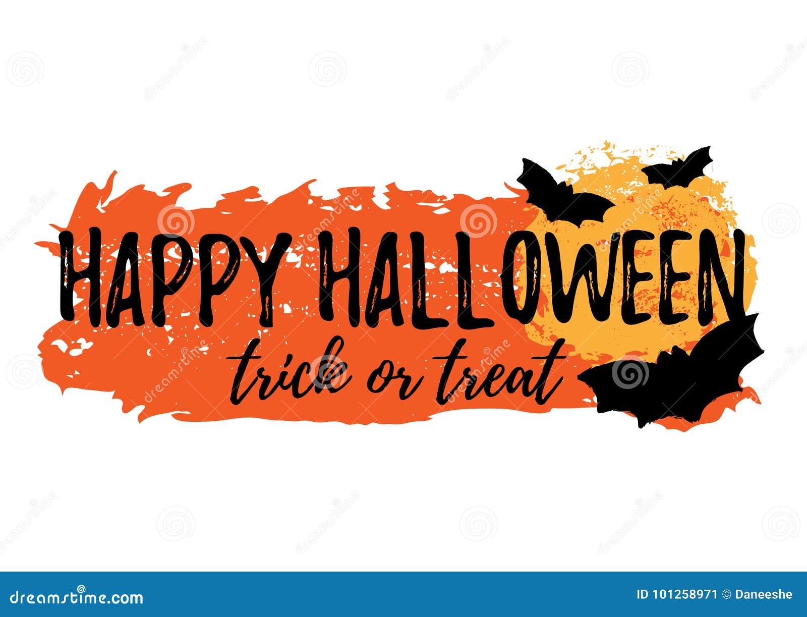 Szczęśliwy karciany Halloween