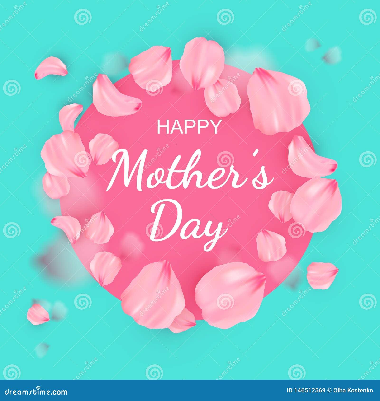 Szczęśliwy kobieta dnia plakat lub sztandar dla matka dnia