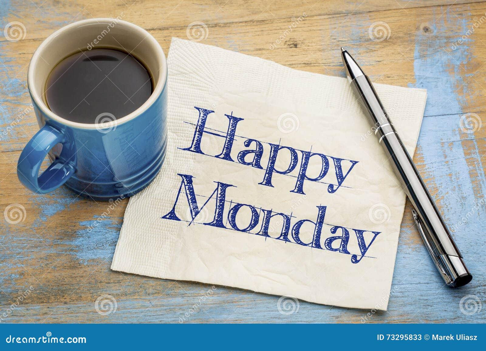 Szczęśliwy Poniedziałek pieluchy handwriting