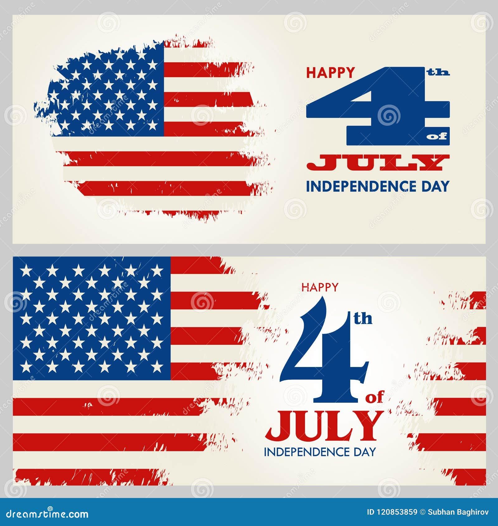Szczęśliwy 4th Lipiec - dzień niepodległości Stany Zjednoczone Ameryka