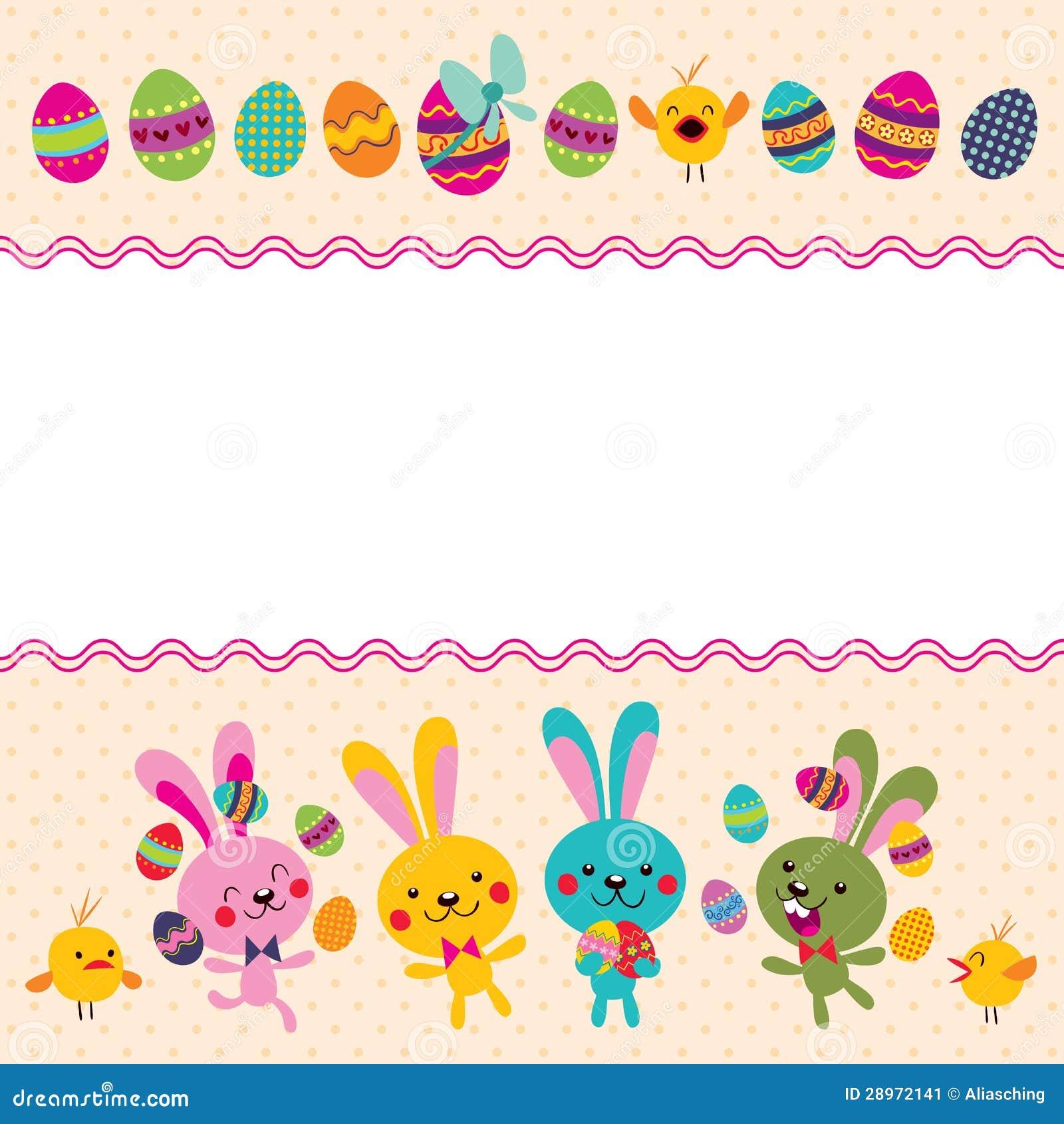 Szczęśliwy Wielkanocny kartka z pozdrowieniami