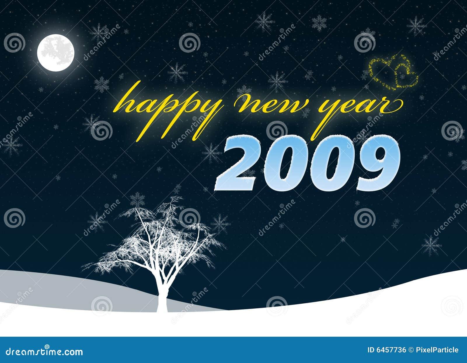 Szczęśliwych 2009 nowego roku