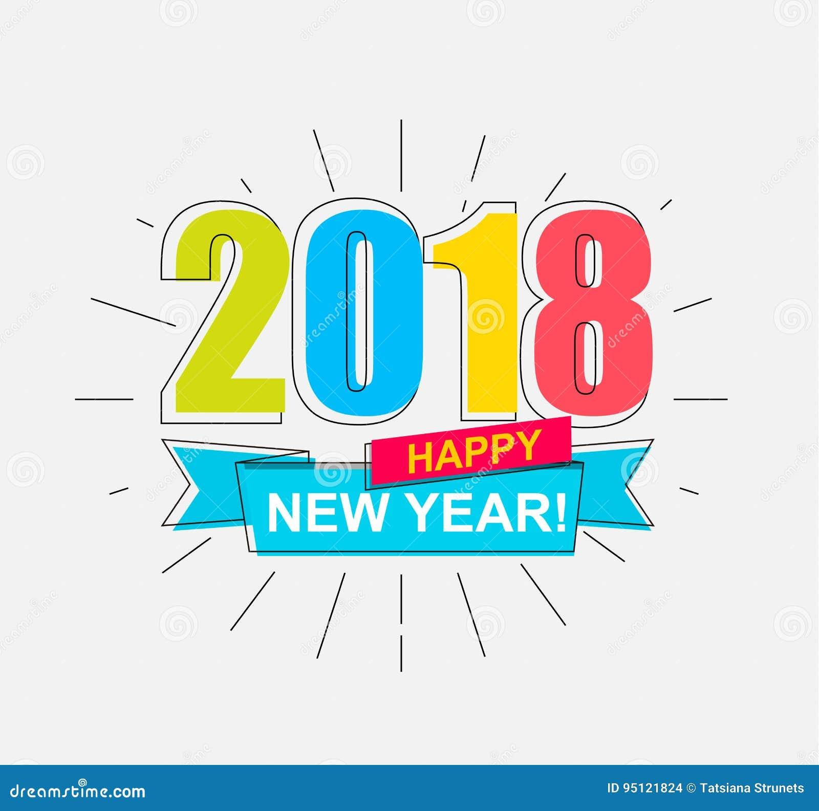 2018 szczęśliwych nowy rok