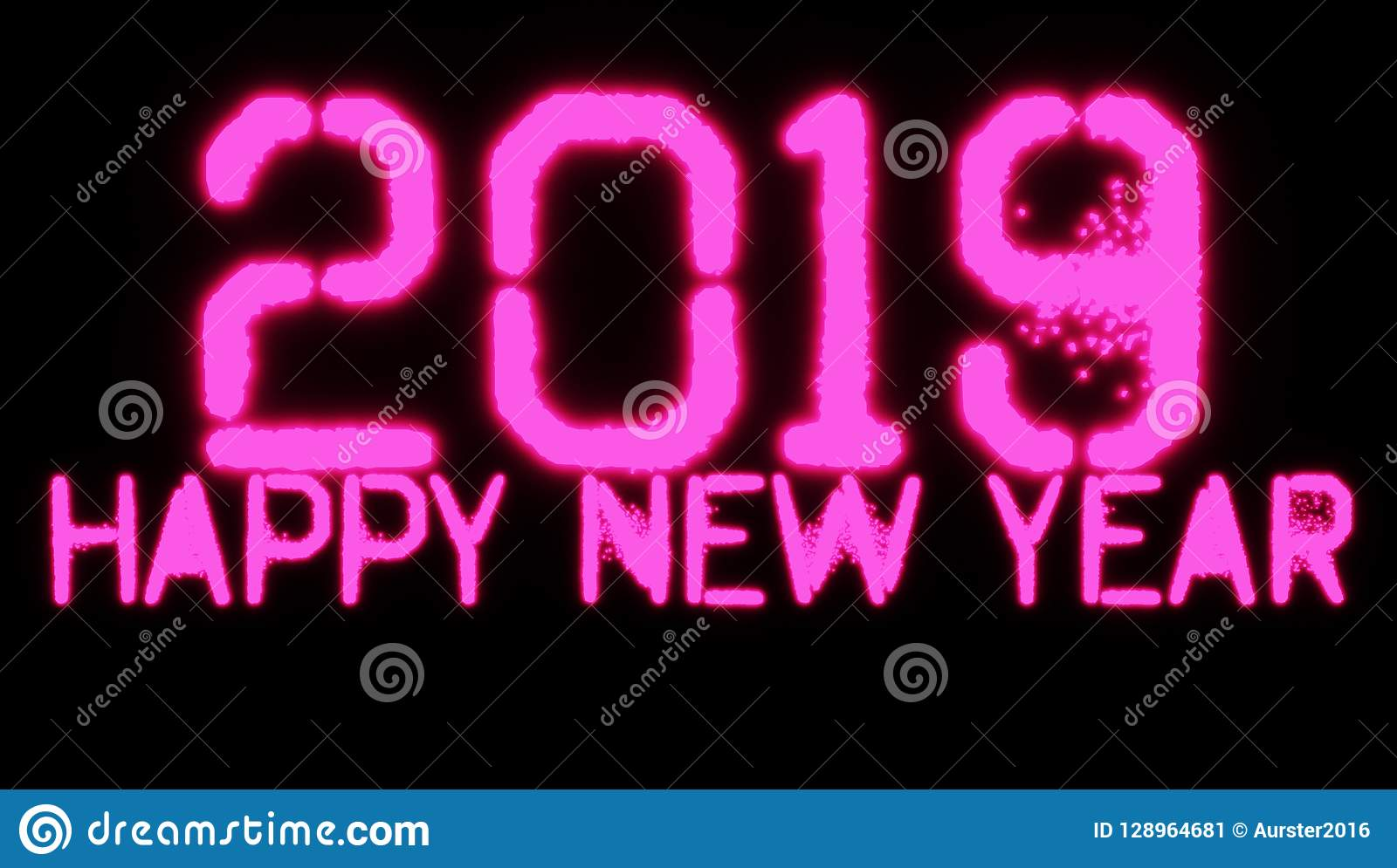 2019 Szczęśliwych nowy rok tapety tło