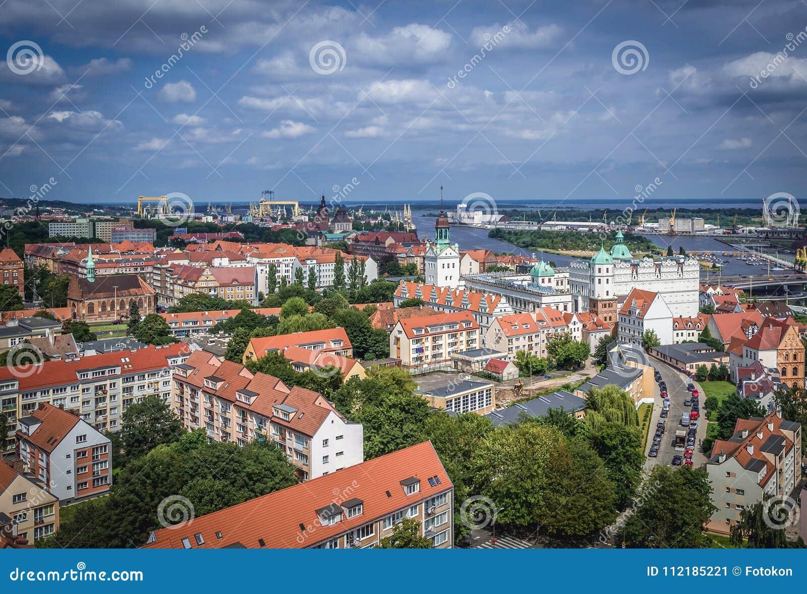 Szczecin в Польше