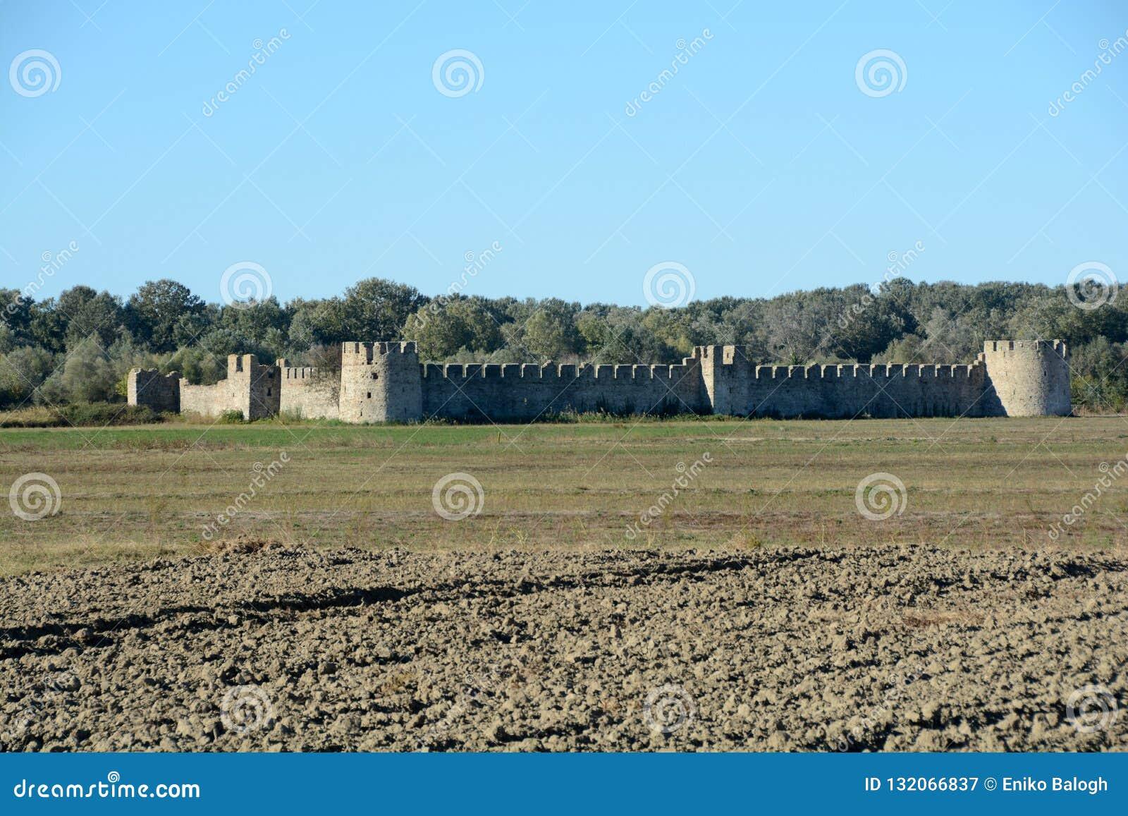 Szczegół antyczny Bashtova forteca