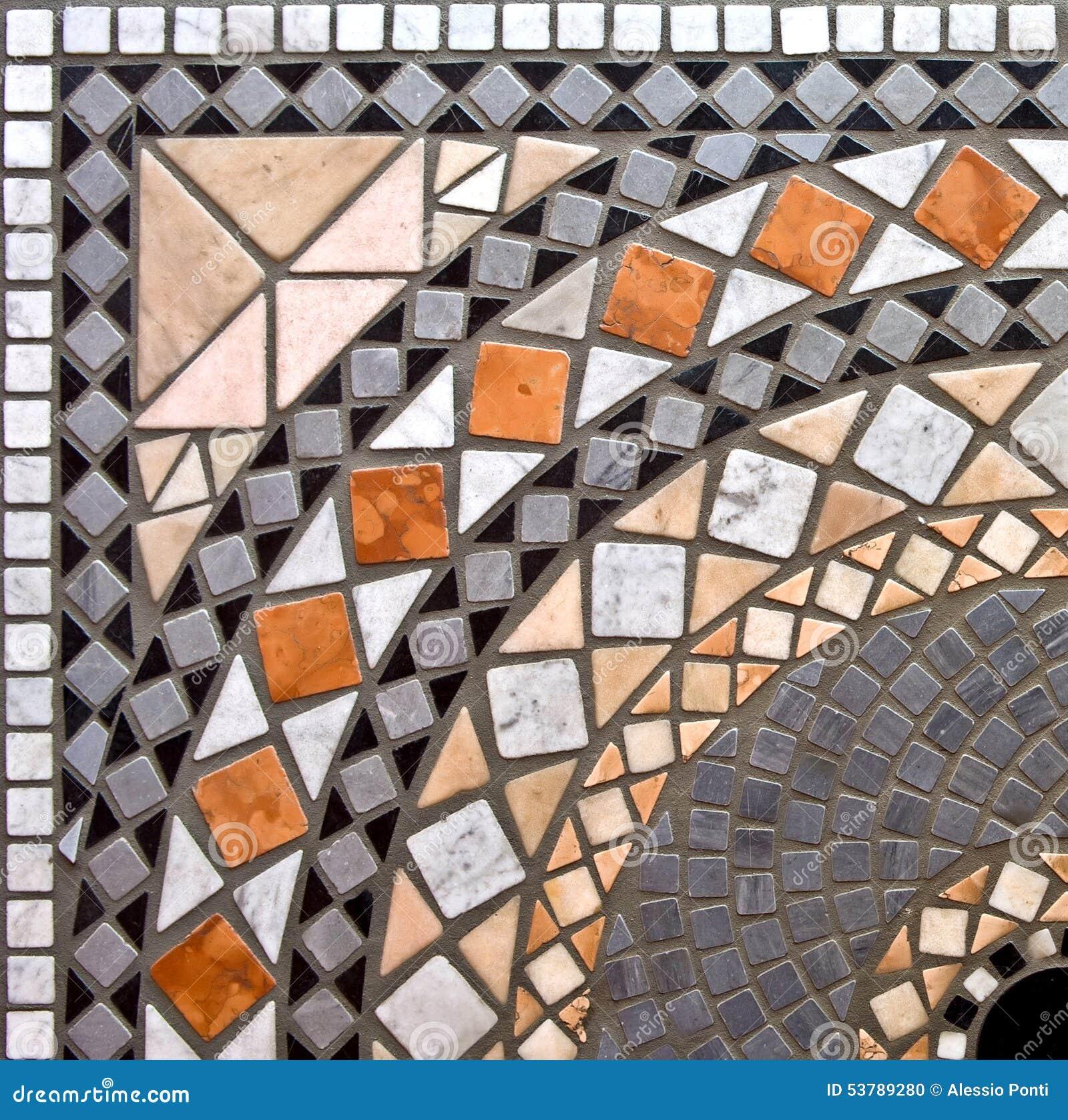 Szczegół marmurowy mozaiki tło