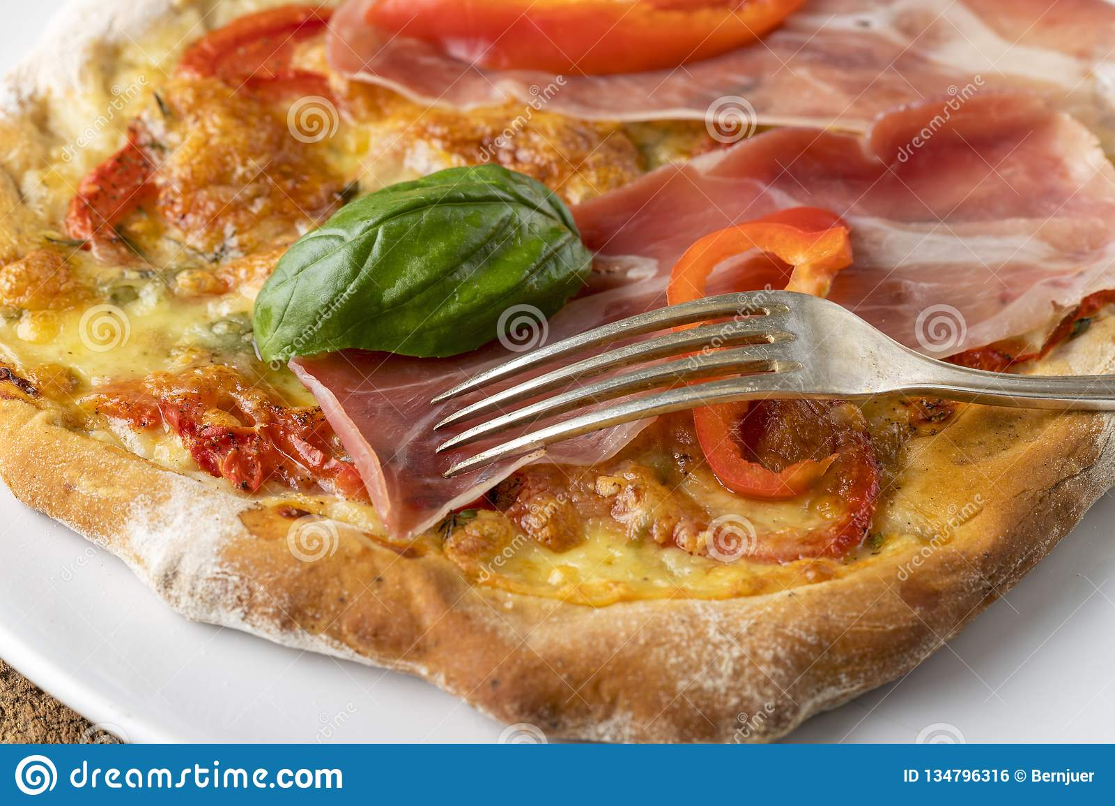 Szczegół pizza