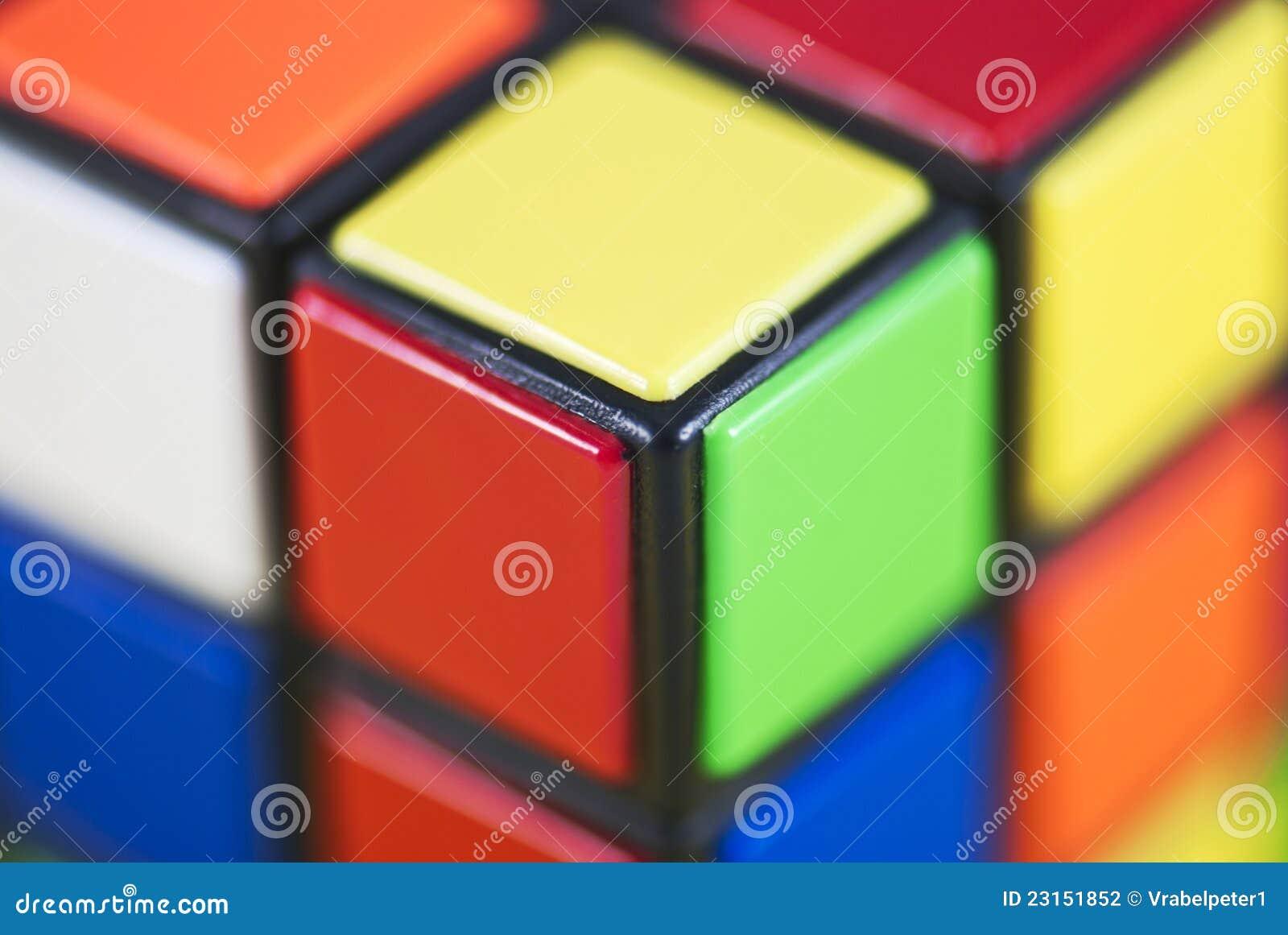 Szczegół Rubik s Sześcian